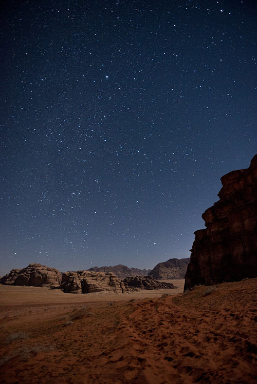 For all of  our tours , you can decide to sleep under the stars in the open air beneath the starry desert sky.