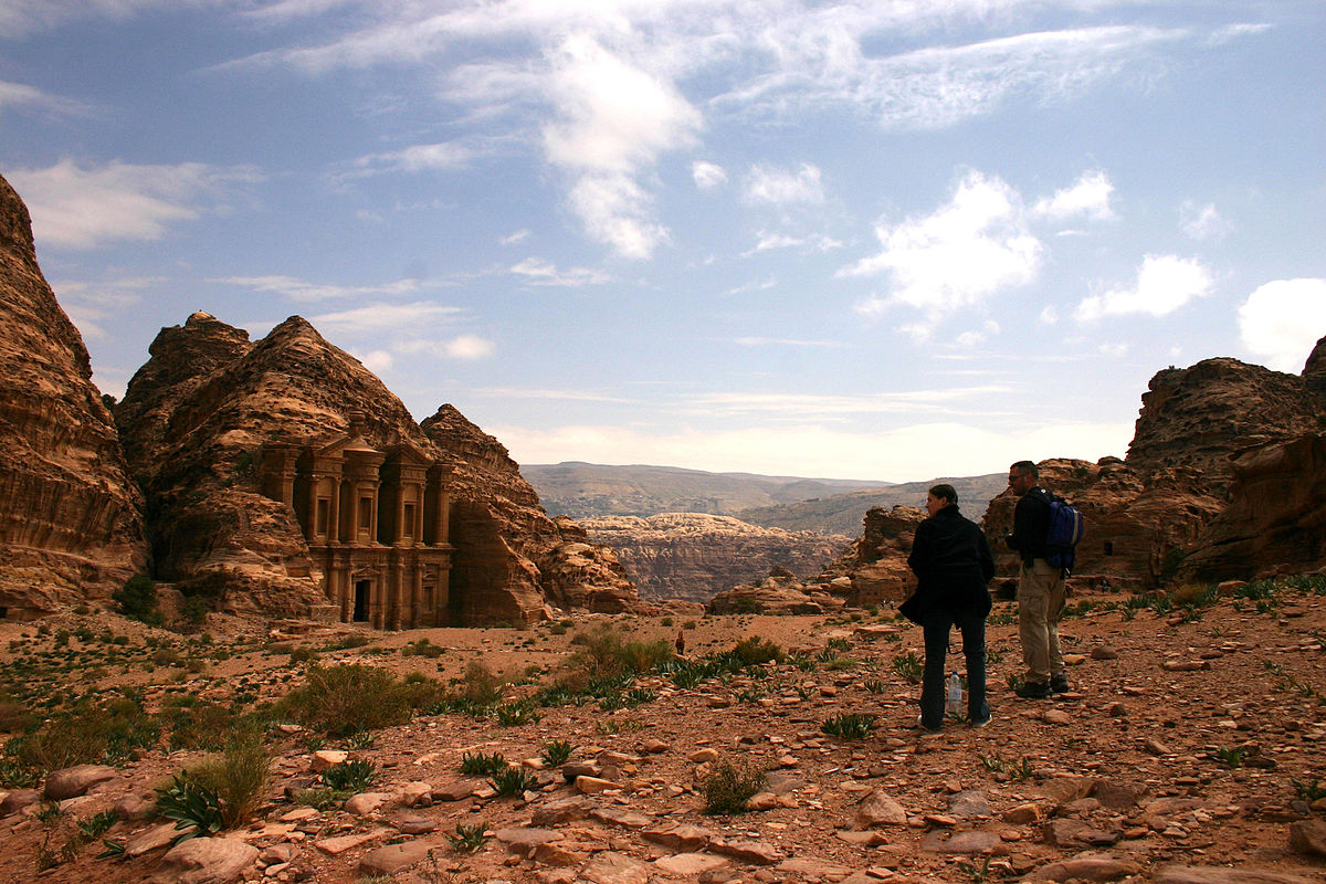 The Monastery at Petra. Photo taken by  Brad Mering .