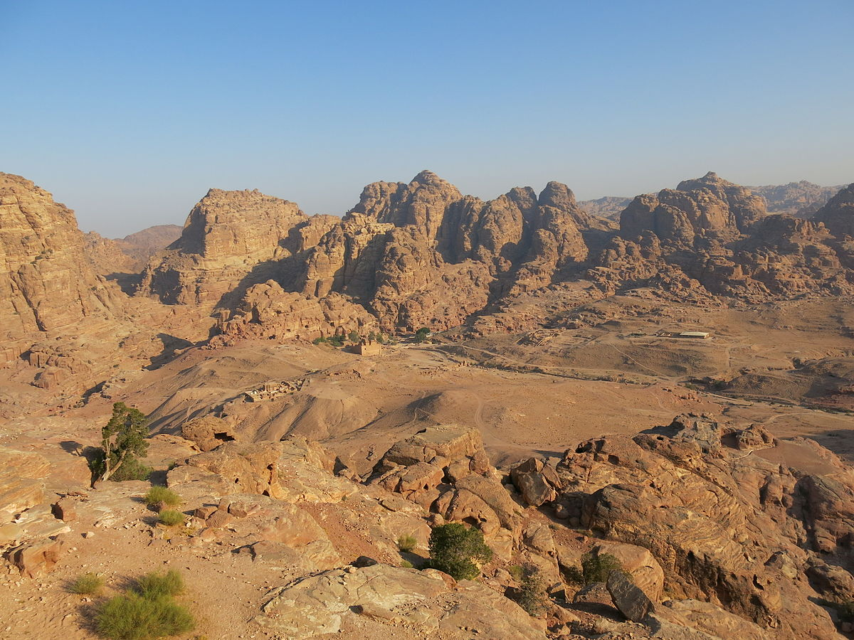 View from the High Place of Sacrifice. Photo taken by LiAnna Davis, distributed under  CC BY-SA 3.0  license.