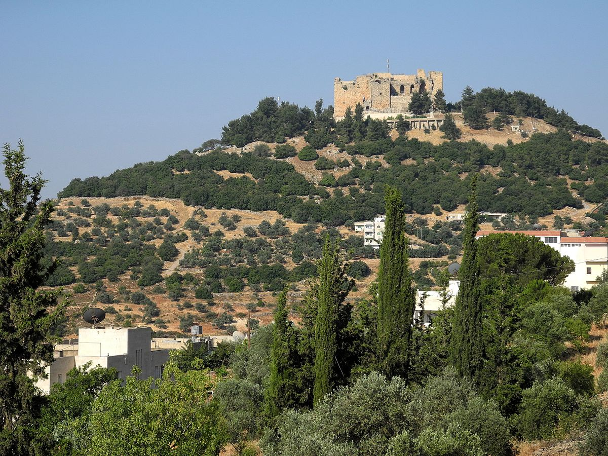 The Ajloun Castle. Photo taken by Hiking in Jordan, distributed under  CC BY-SA 2.0  license.