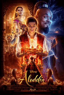 Aladdin Official Movie Poster