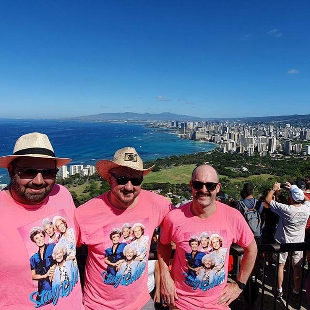 Aloha from the girls at Diamond Head!! #hawaii #vacation