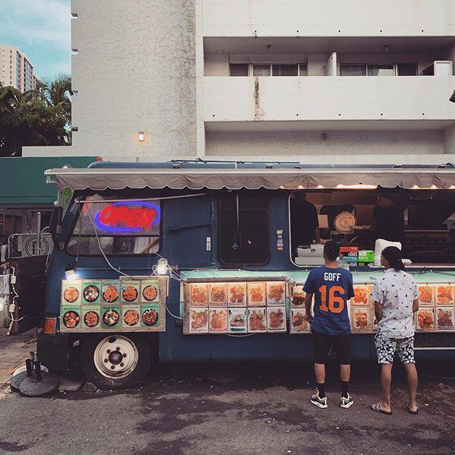 The last supper, Shrimp Truck!!! #aloha #hawaii #vacation