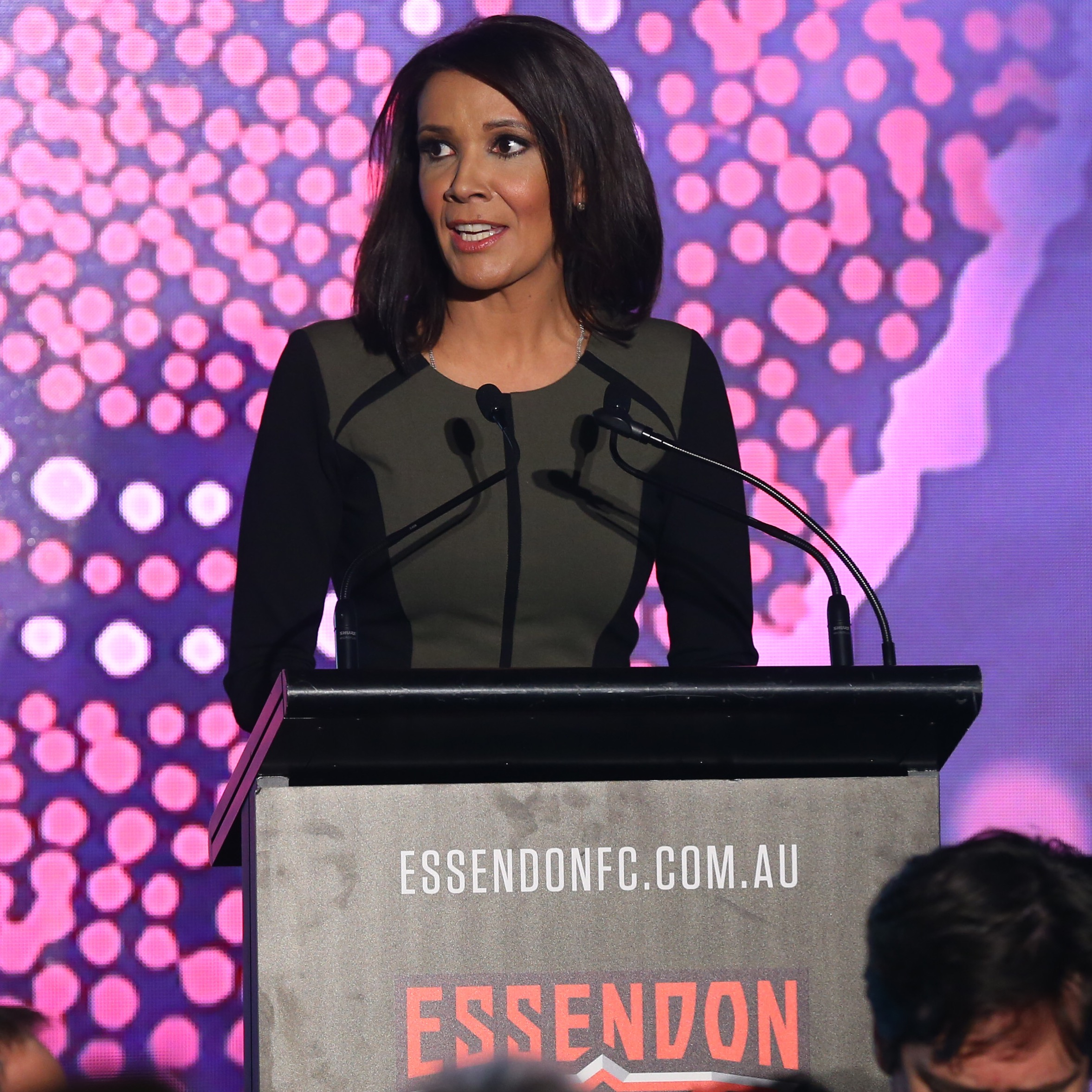 Shelley Ware MC for the Essendon FC Culinary Chairman's Function for 2016