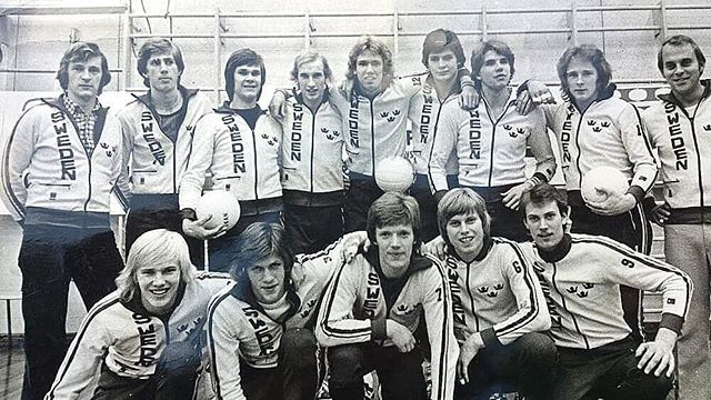 My father in the Swedish national volleyball team 🇸🇪🏐