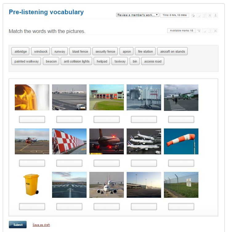Aviation English vocabulary