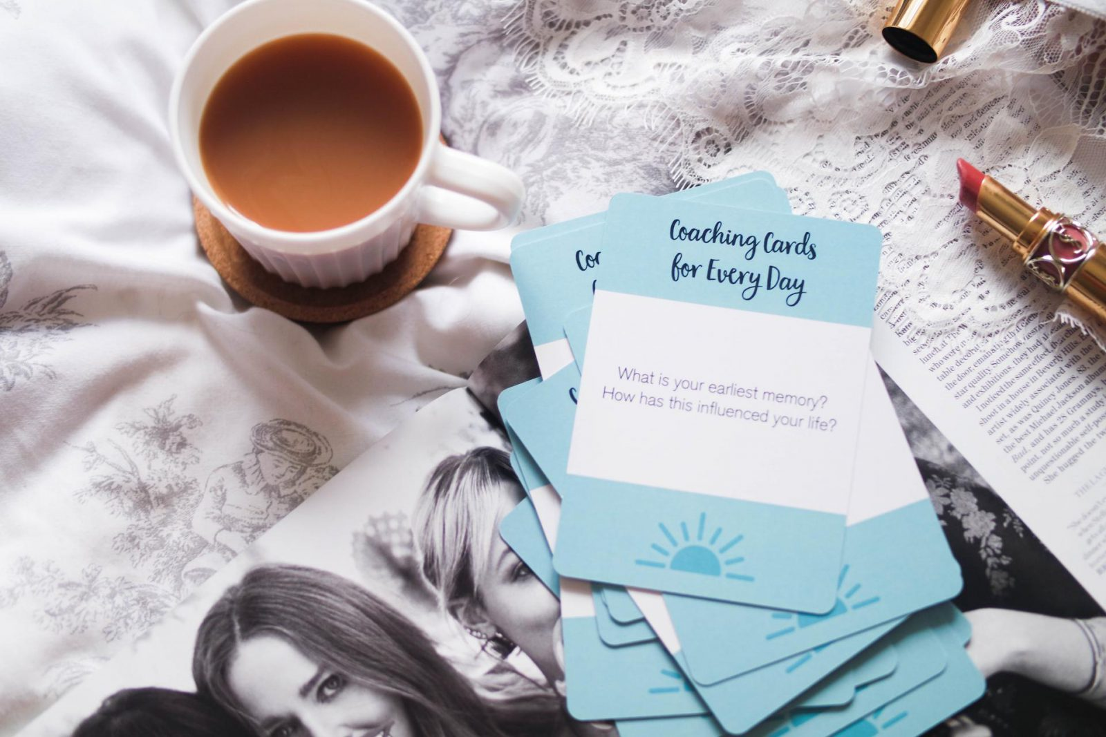 Coaching Cards for Every Day featured on Love Style Mindfulness