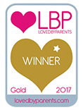 Loved By Parents Gold Award Winner 2017