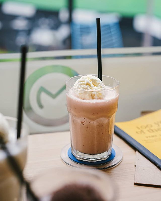 Without further ado, find comfort in a glass of Strawberry Milkshake this week. Where to find it? #Monks of course. . #monksroaster #monkscoffee #monkscoffeeroasters #monkscoffeeshop #kulinermedan #dessertmedan #kopimedan #medantalk #medan #medanolshop #cafemedan #medanhits #snackmedan #jajananmedan