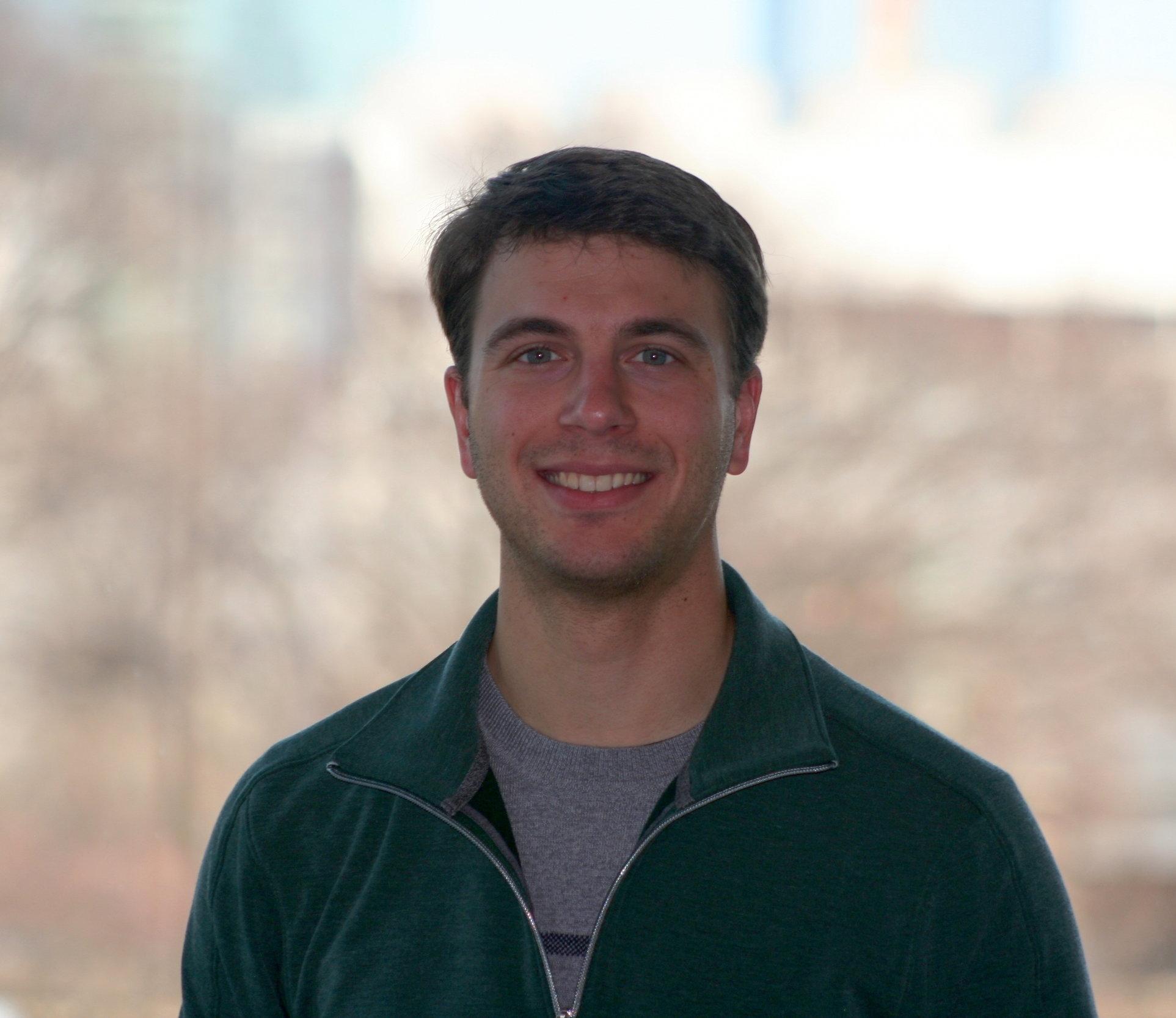 Matt Piccoli, PhD student at the University of Pennsylvania.