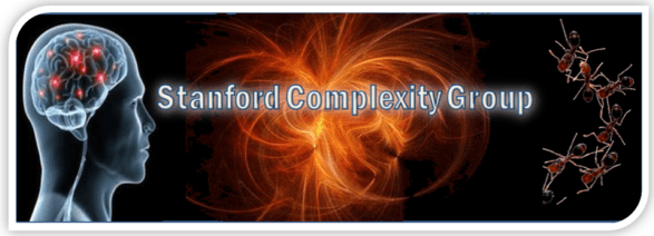 Stanford Complexity Group  Stanford Complexity Group (SCG) is a student-led organization that promotes Complexity Science in the Bay Area. We also like Trivia. So we will host a quantitative trivia quiz, full of fun knowledge and Fermi estimation questions.