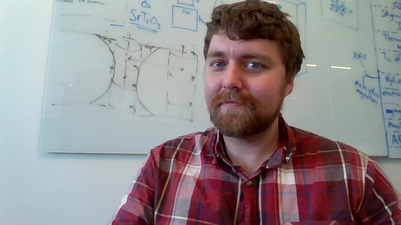Dustin Gilbert - I am interested in nanotechnology, computation of the future, magnetism and spin; I work with thin-films and nanostructures, using their small geometry to control their properties. I like to drink coffee, lots and lots of coffee, with cream and yellow-fake sugar.