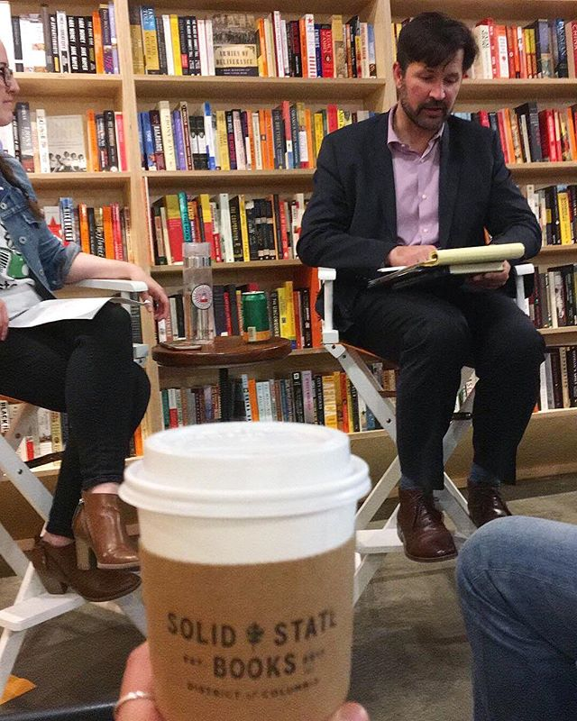 "Thank you Tom Bollyky for a fascinating discussion on the current state of #globalhealth last night at @solidstatedc! #scicomm readers, you can find his book ""Plagues and the Paradox of Progress"" on Amazon as well as at bookstores in your city today. #tasteofsciDC . . . . . #scicomm #sciencecommunication #tombollyky #plagues #infectiousdisease #immunology #science #tasteofscience #tasteofsci"