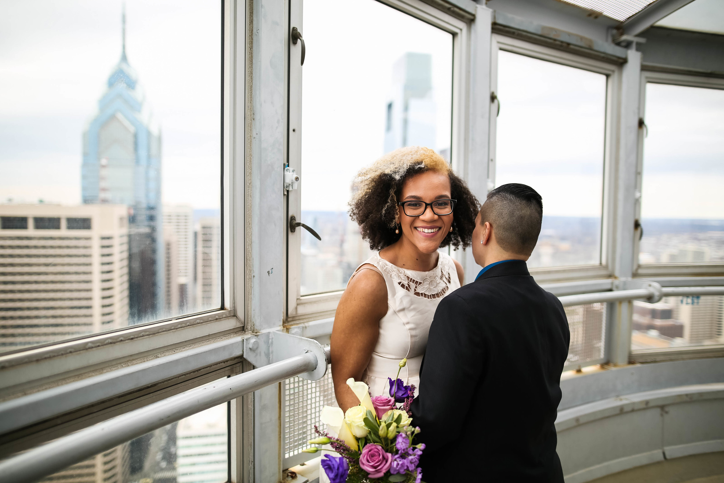 Philadelphia City Hall Lesbian Elopement