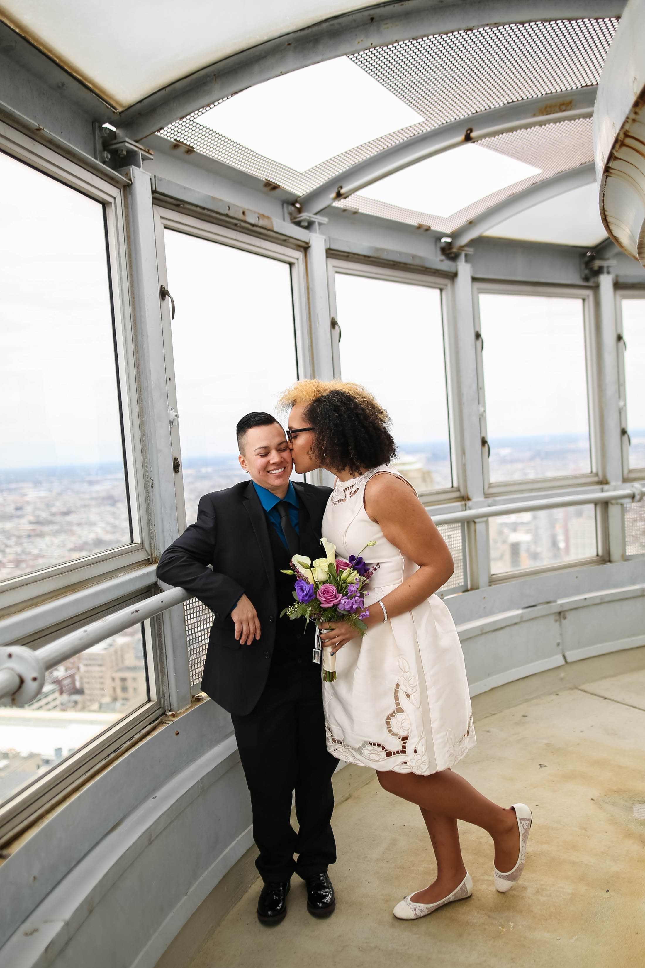 Philadelphia City Hall Lesbian Wedding