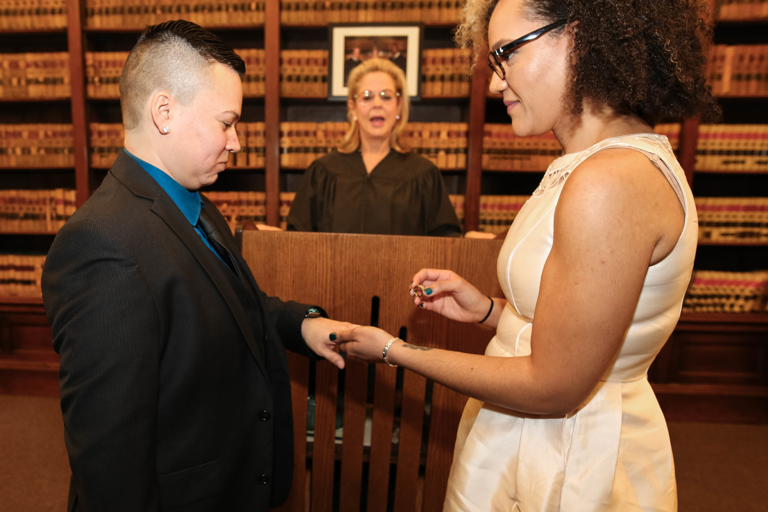 Lesbian Philadelphia City Hall Wedding