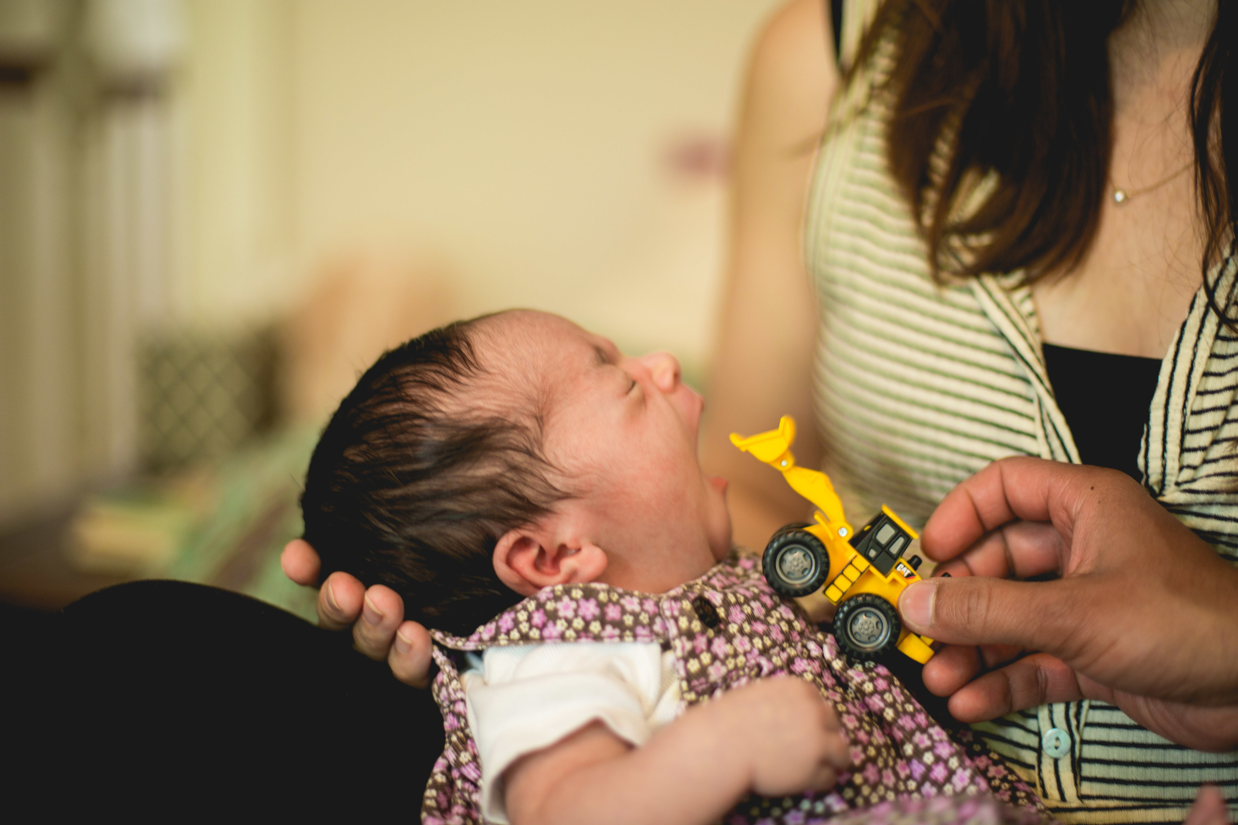 Baker Family - A Philadelphia in home newborn lifestyle session by Swiger Photography.