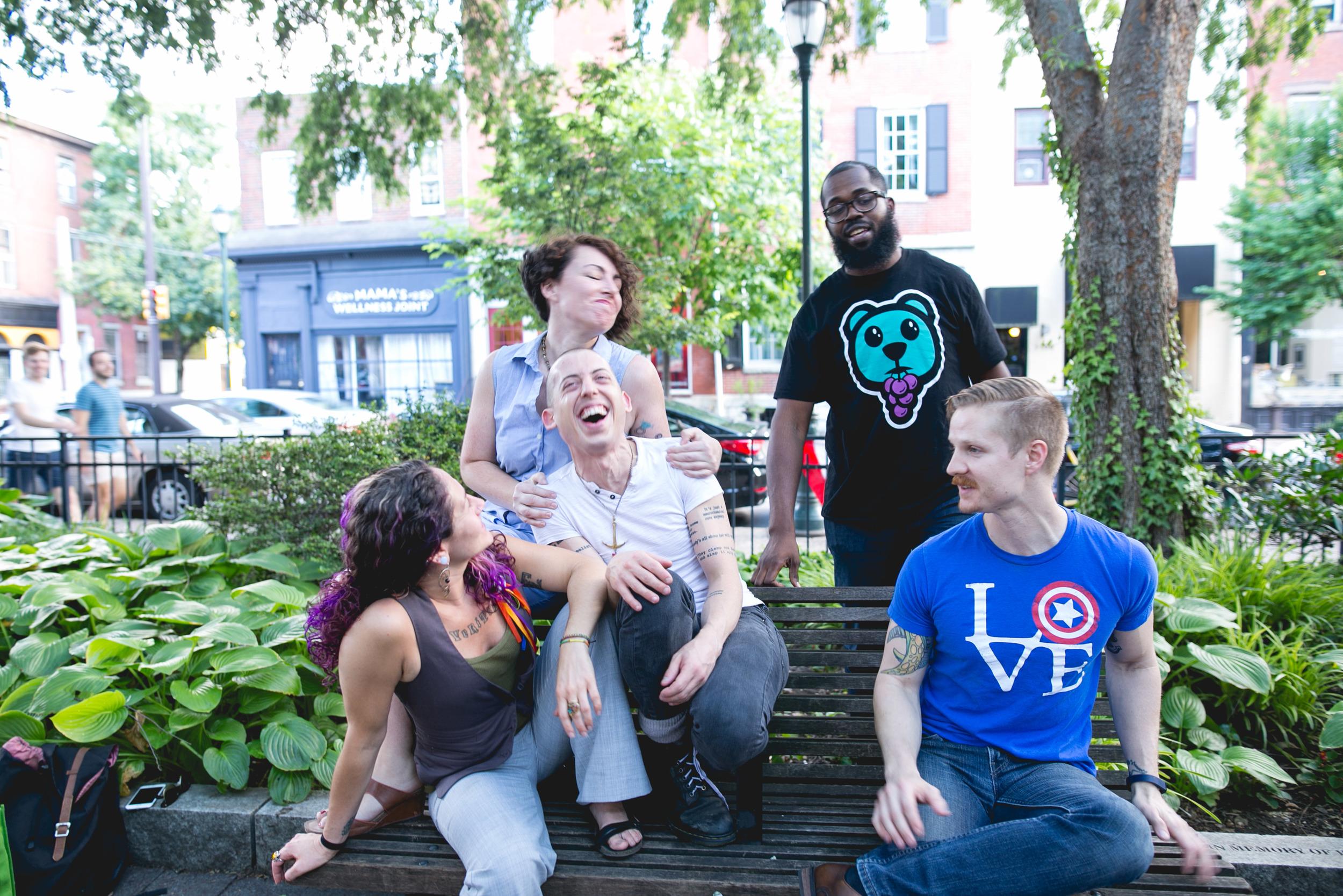 Philadelphia Weekly Forward Philly Headshots by LGBTQ photographer