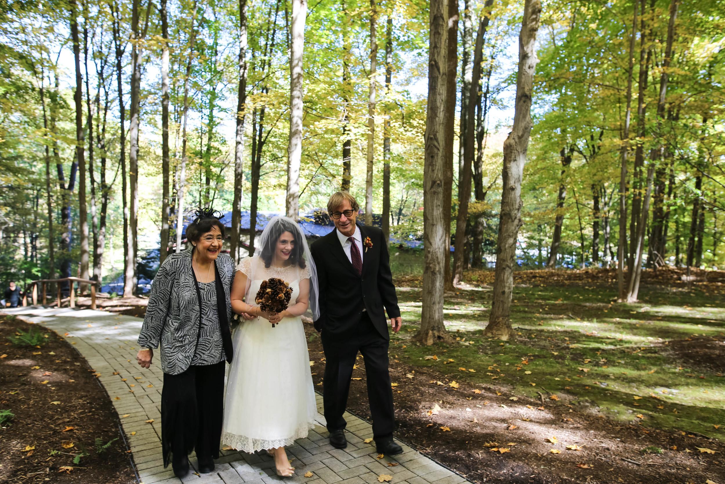 Who Should Walk You Down The Aisle? A Swiger Photography Wedding Wednesday Series. Philadelphia Lesbian Photographer.