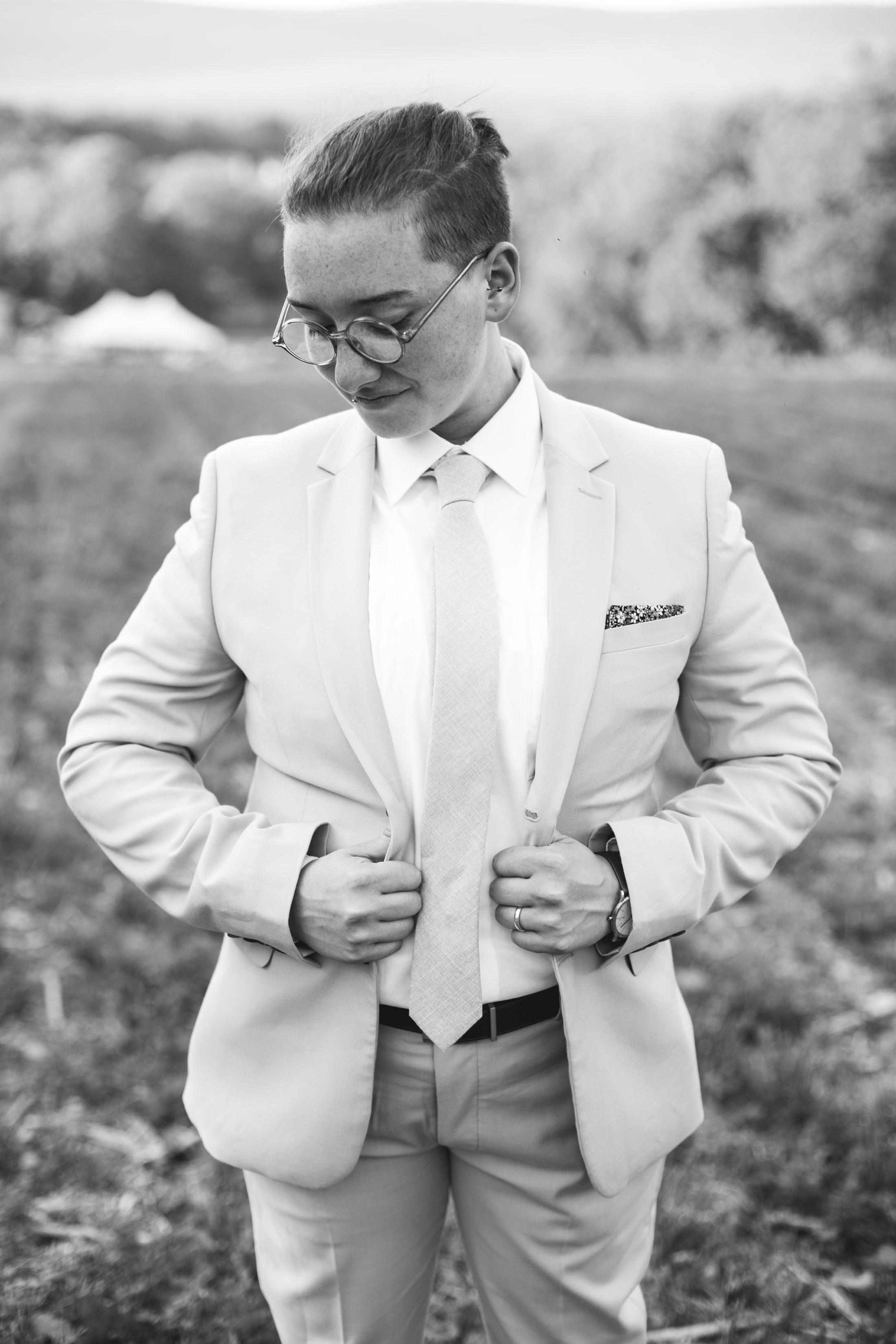 Alex and Lee - A Queer Walnutport PA Wedding, Philadelphia LGBTQ Wedding Photographer