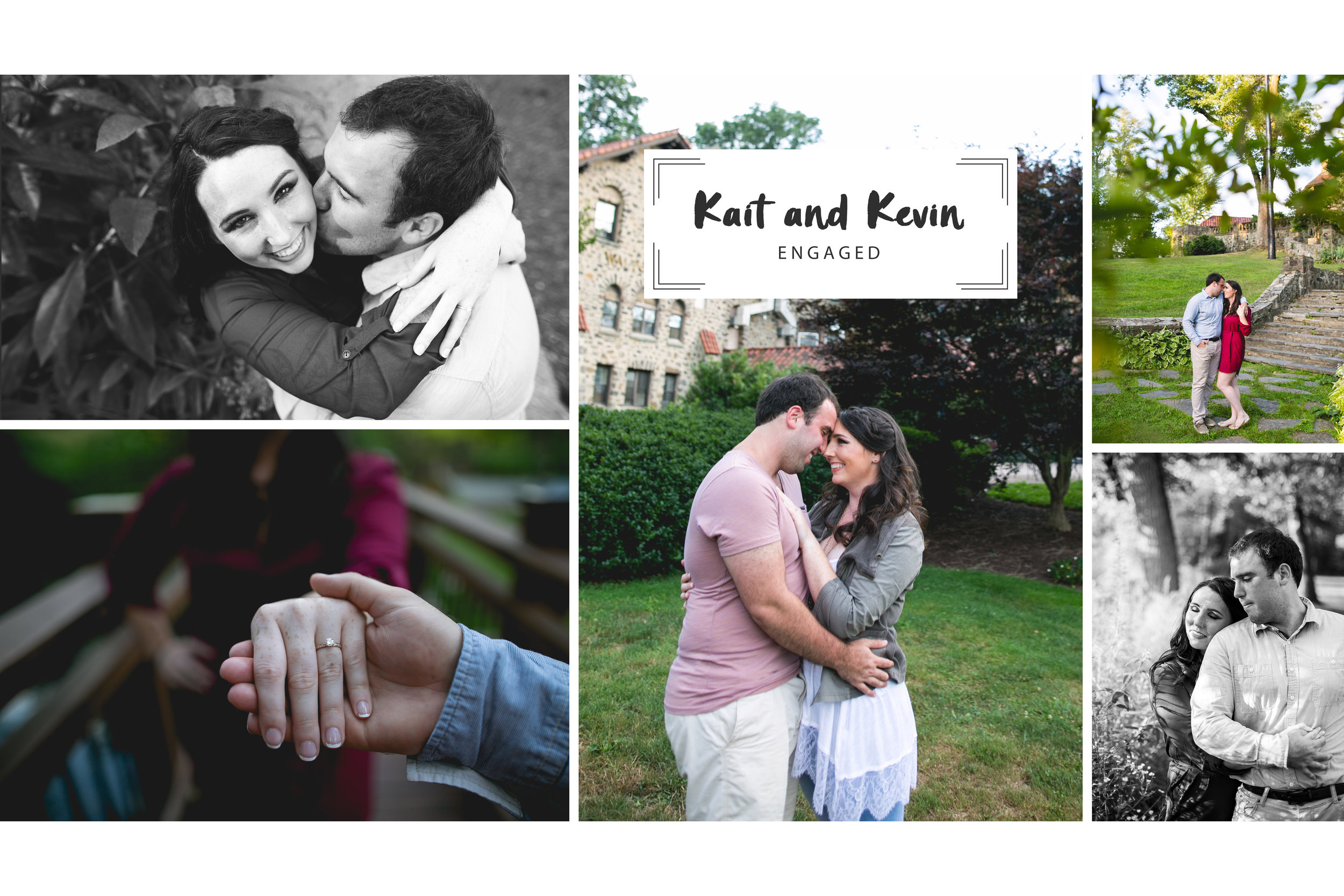 An Eastern University Engagement Session by Swiger Photography, a Philadelphia Wedding Photography company!
