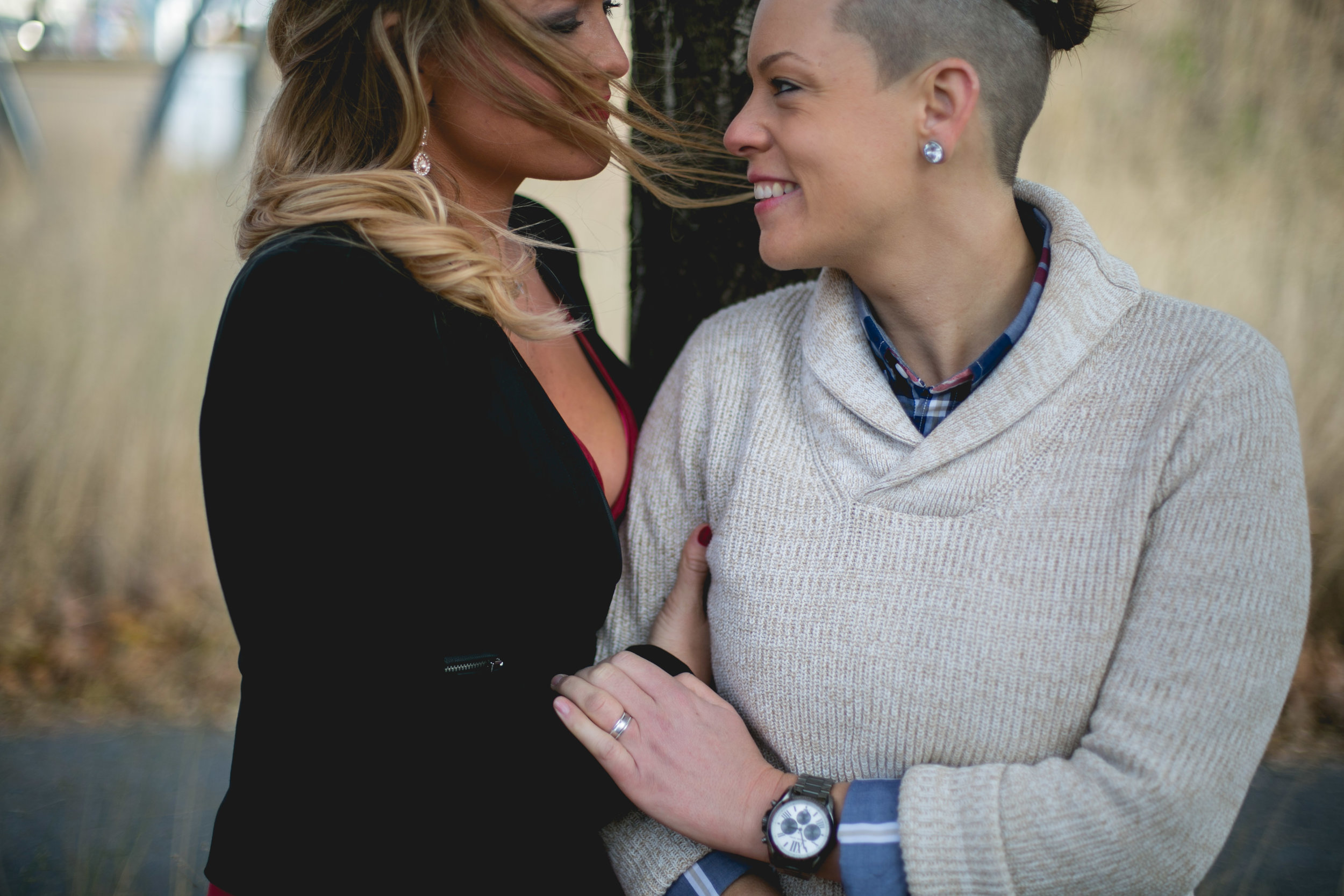 Cira Green Philadelphia Lesbian Engagement Shoot