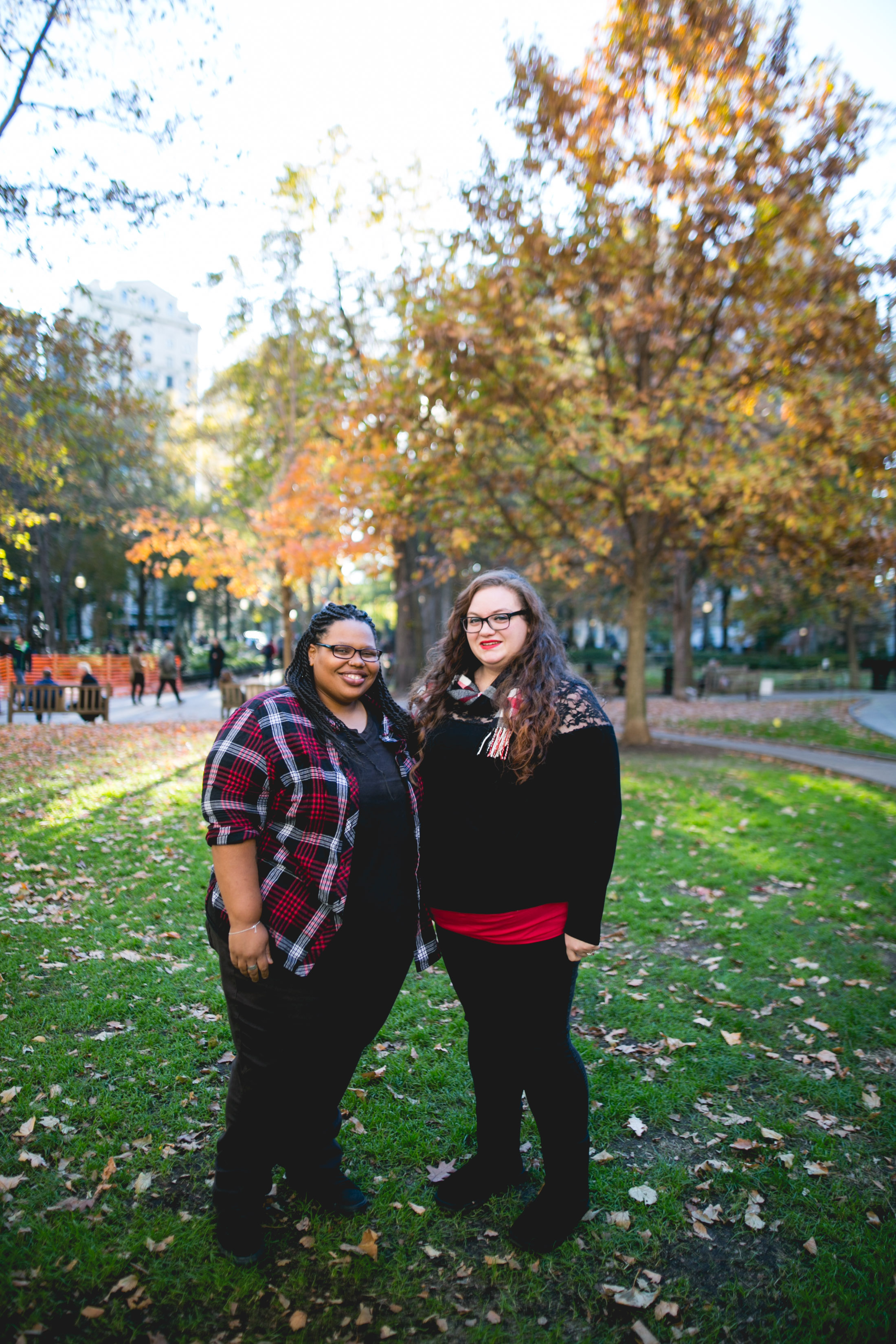 Rittenhouse Square LGBTQ Engagement Session