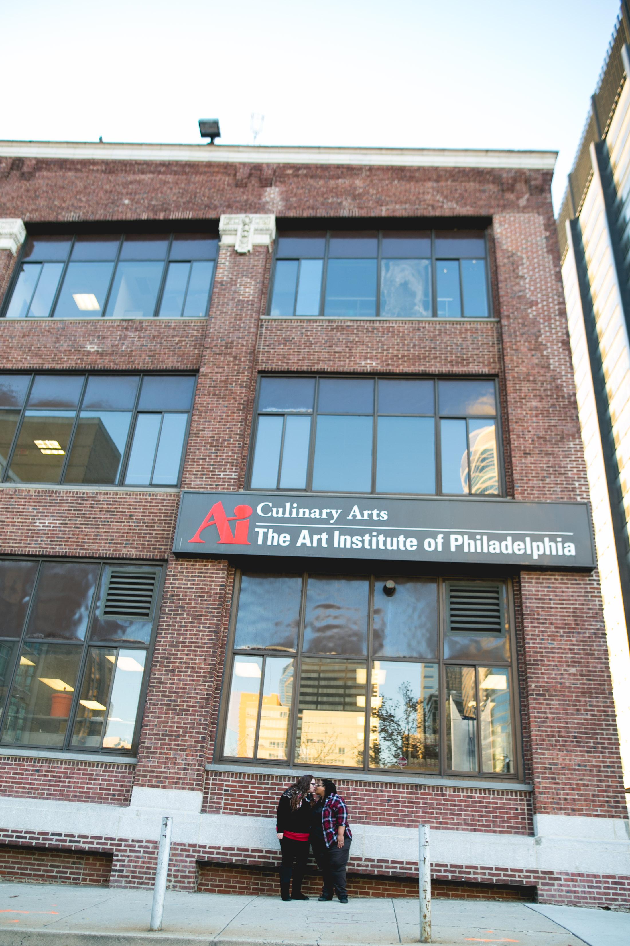 Rittenhouse Square Philadelphia Lesbian Engagement Session