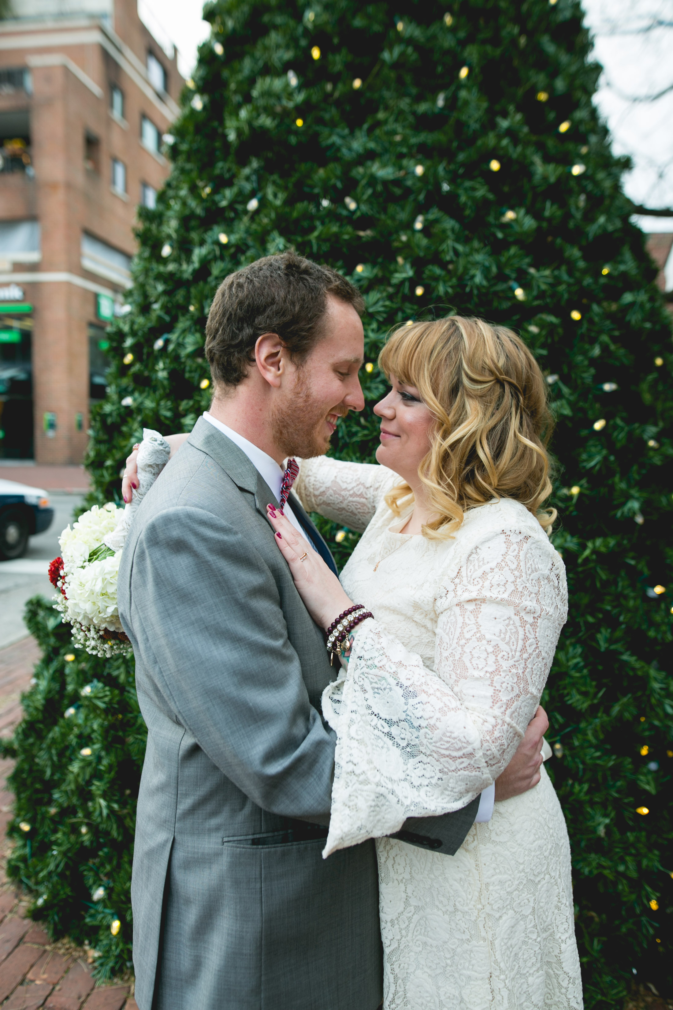 Philadelphia Winter Wedding in Old City