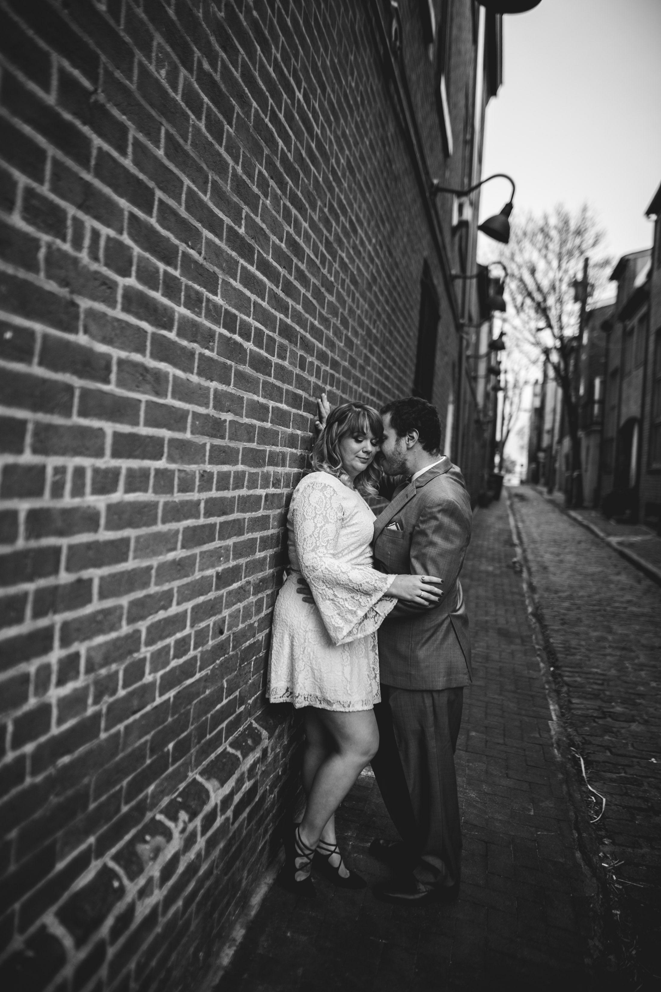 Intimate Bistro Romano Philadelphia Wedding