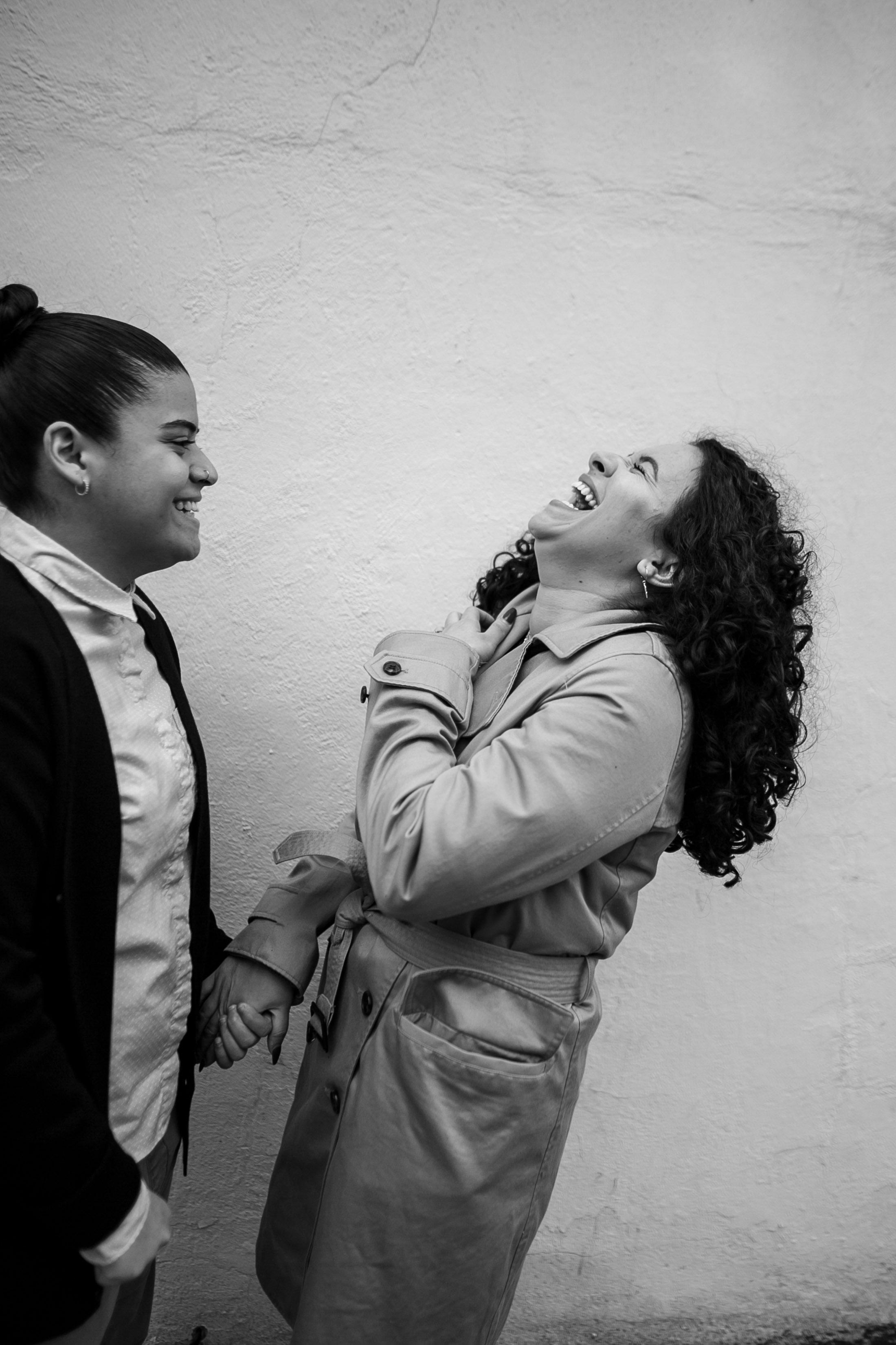Philadelphia Lesbian Engagement Session Crystal and Marissa