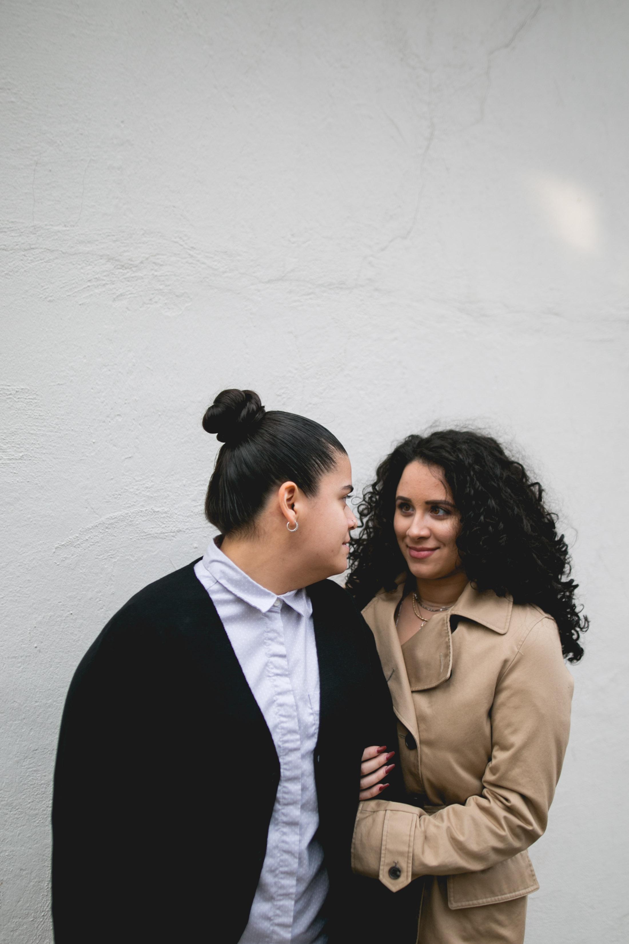 Center City Philadelphia Engagement Session for LGBTQ Couple