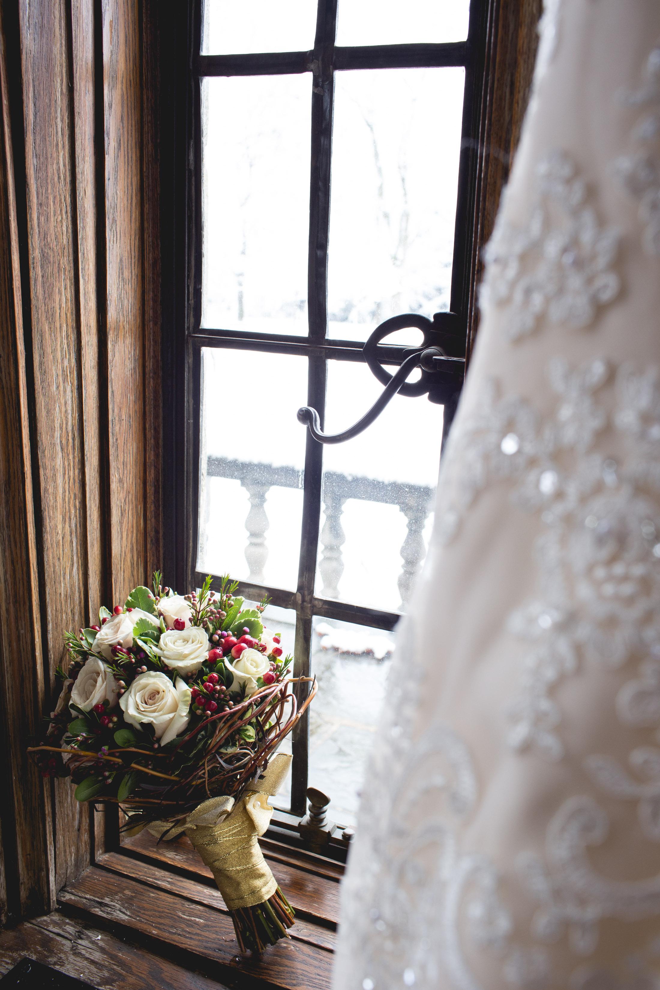 Merion Tribute House Winter Wedding
