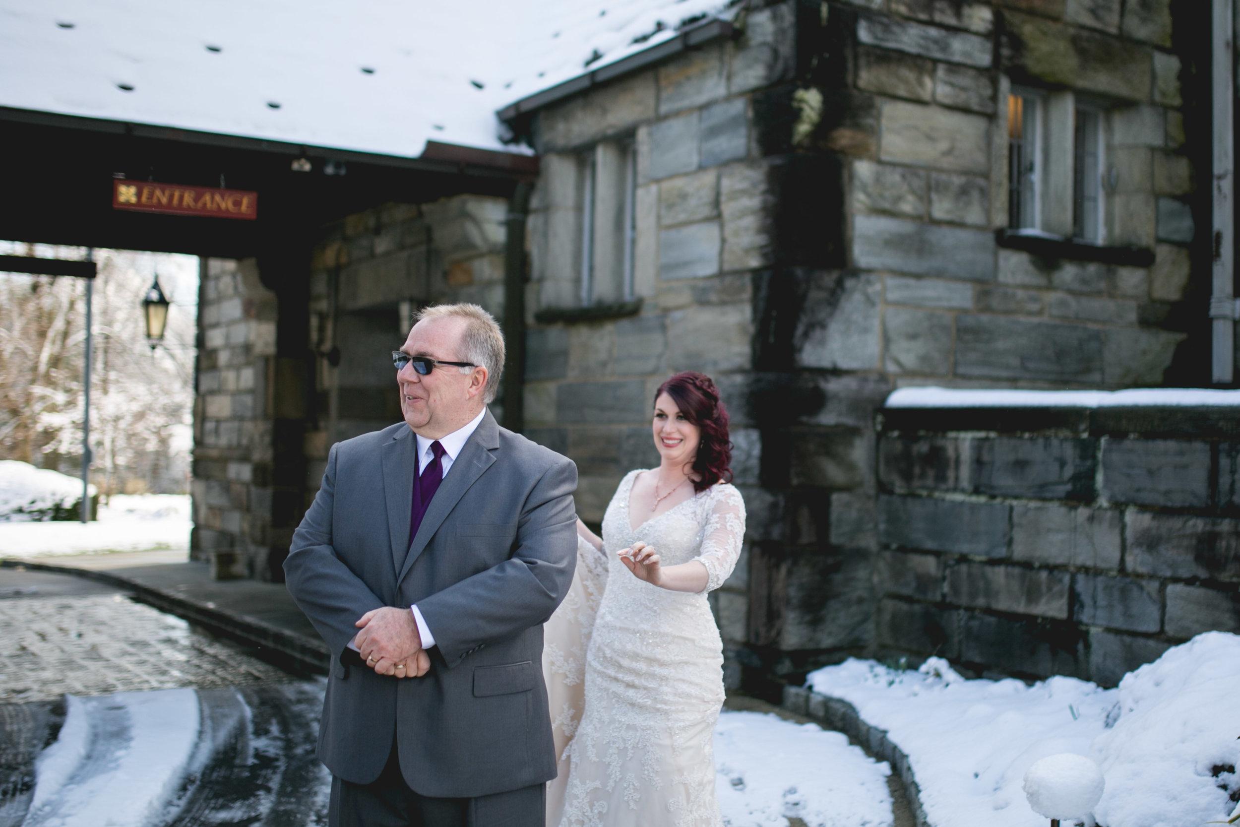 Merion Tribute House Winter Wedding 11