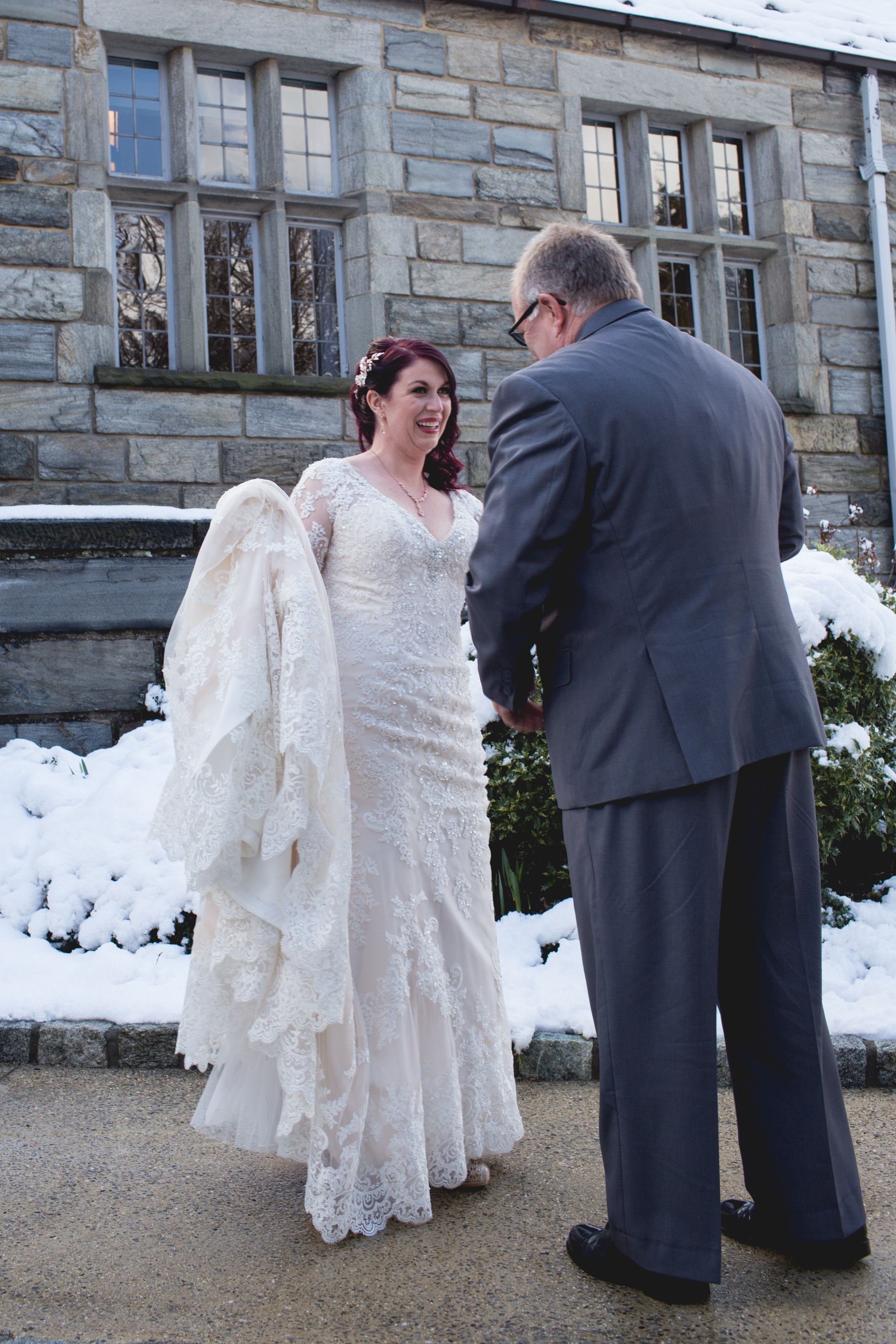 Winter Wedding at The Merion Tribute House, PA 38
