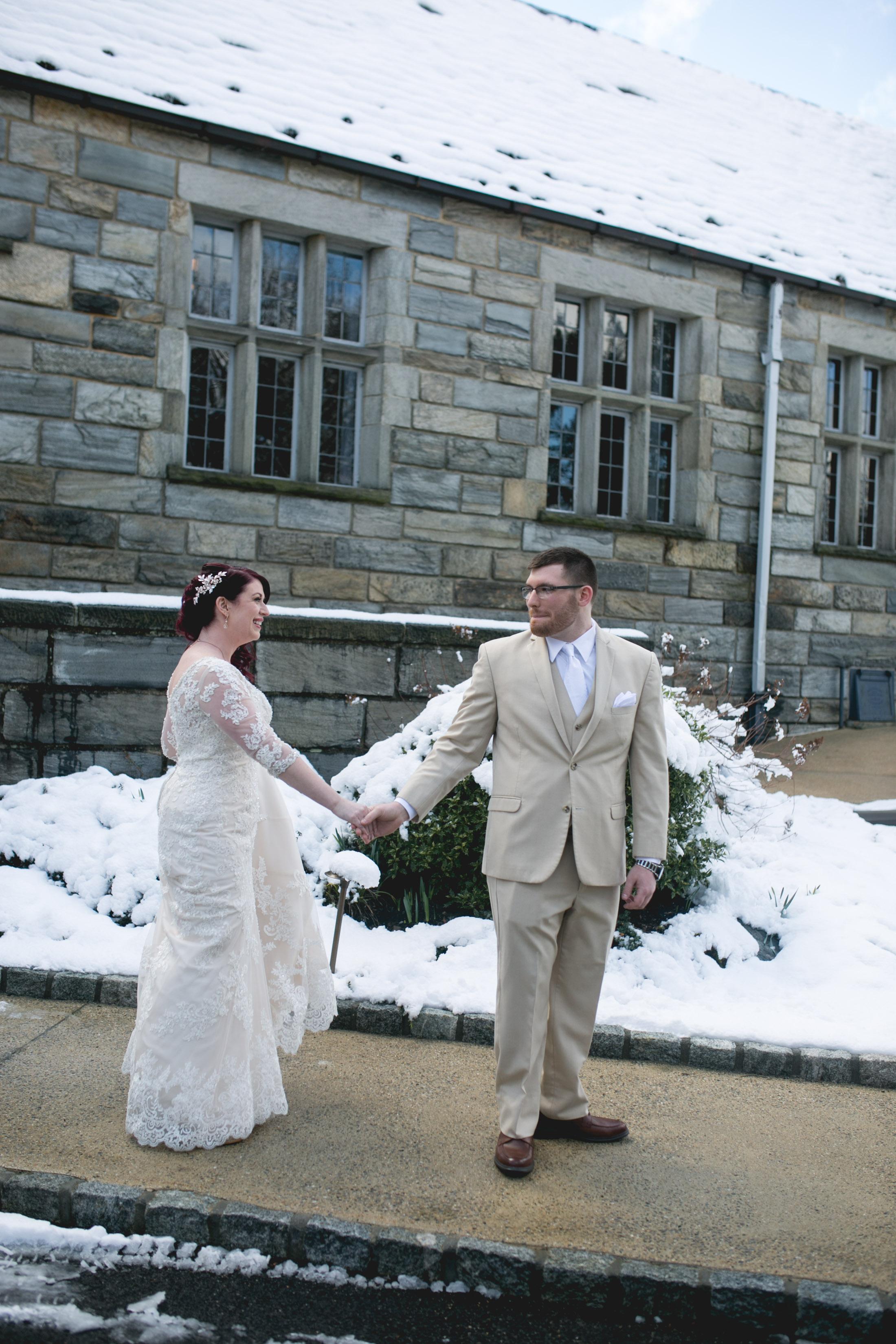 Merion Tribute House Winter Wedding 15