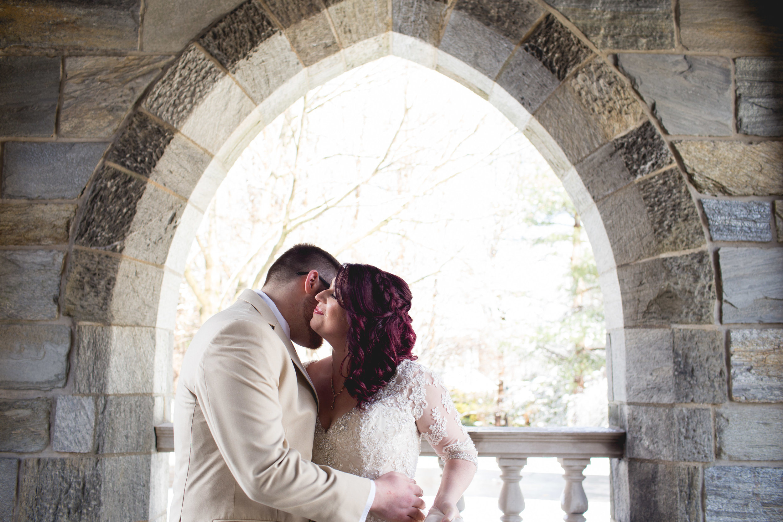 Winter Wedding at The Merion Tribute House, PA 34