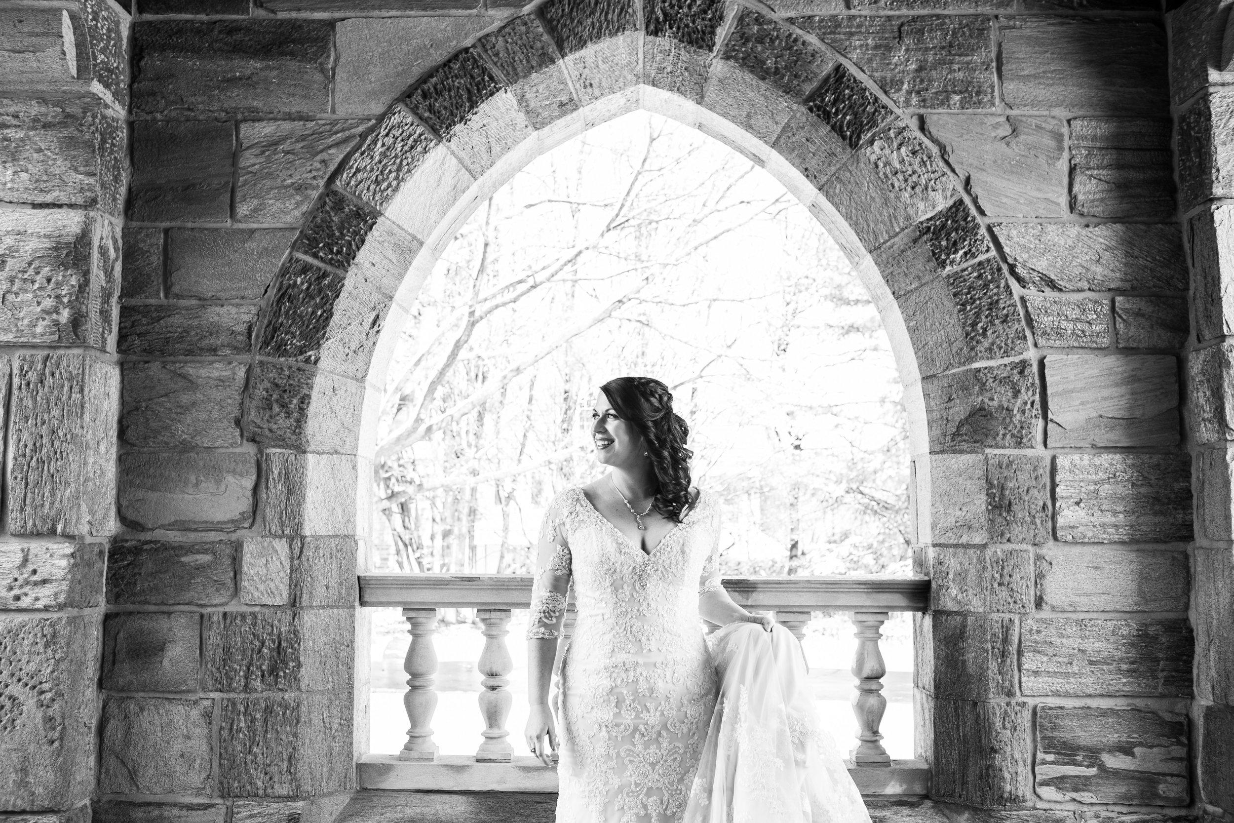 Merion Tribute House Winter Wedding 18