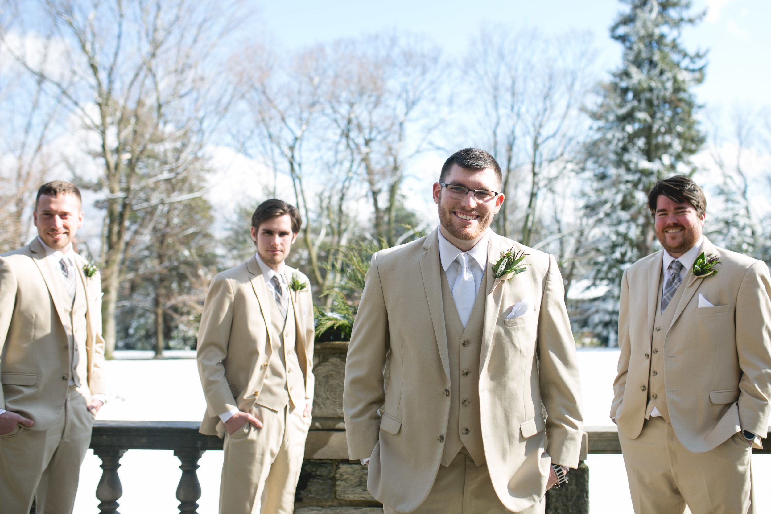 Winter Wedding at The Merion Tribute House, PA 33
