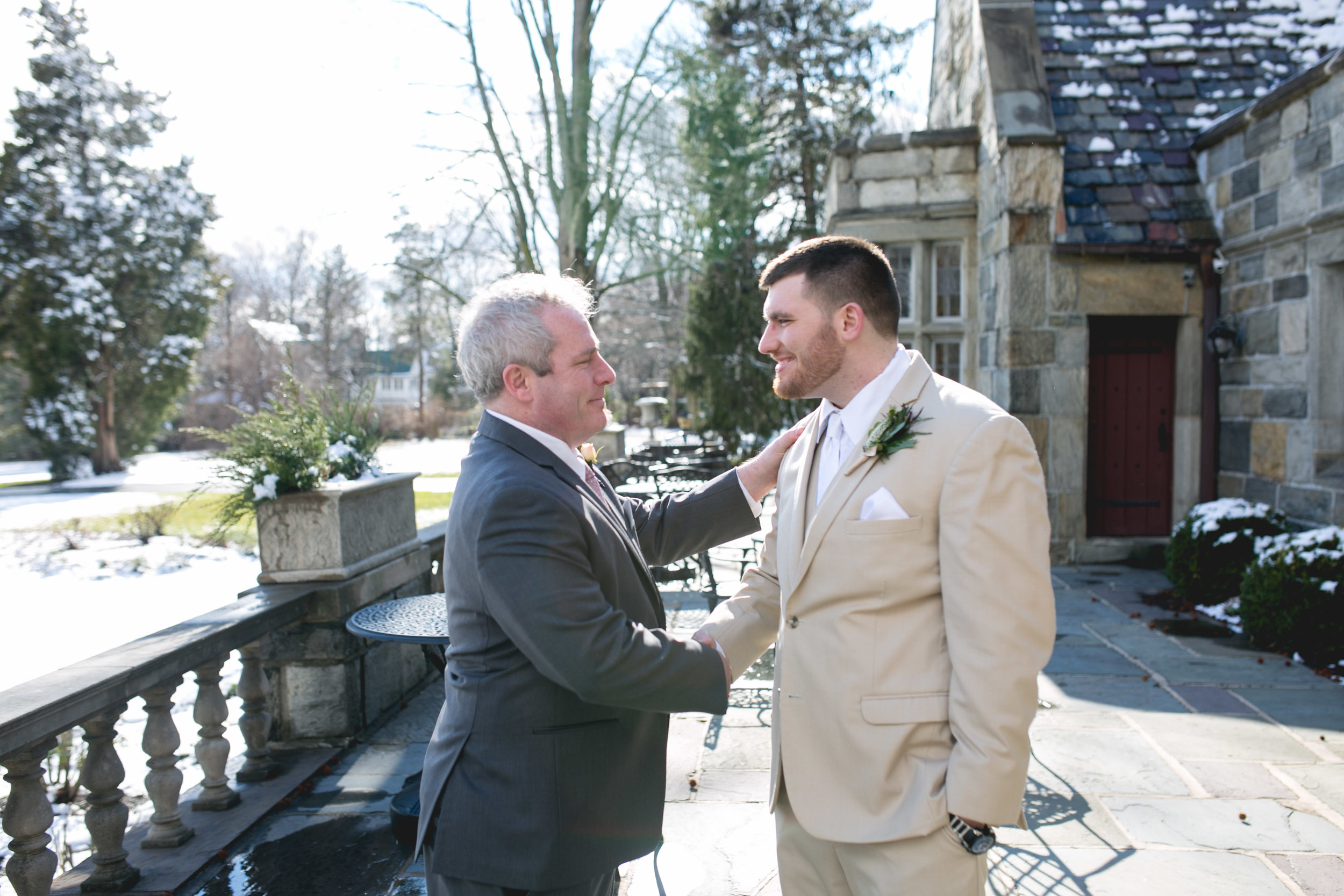 Winter Wedding at The Merion Tribute House, PA 29