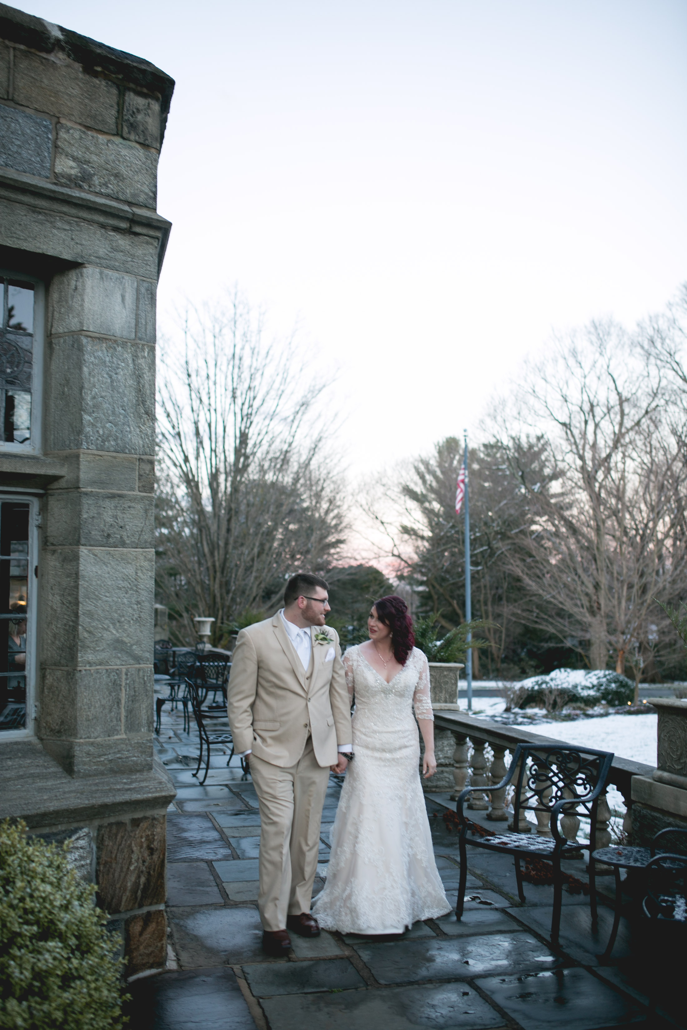 Merion Tribute House Winter Wedding 51