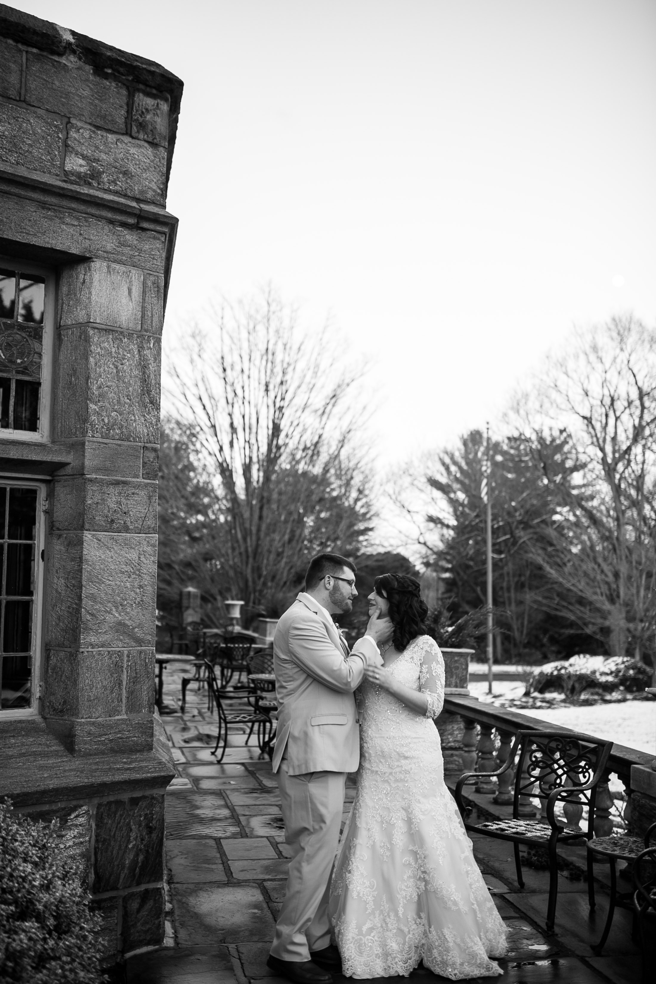 Winter Wedding at The Merion Tribute House, PA 12