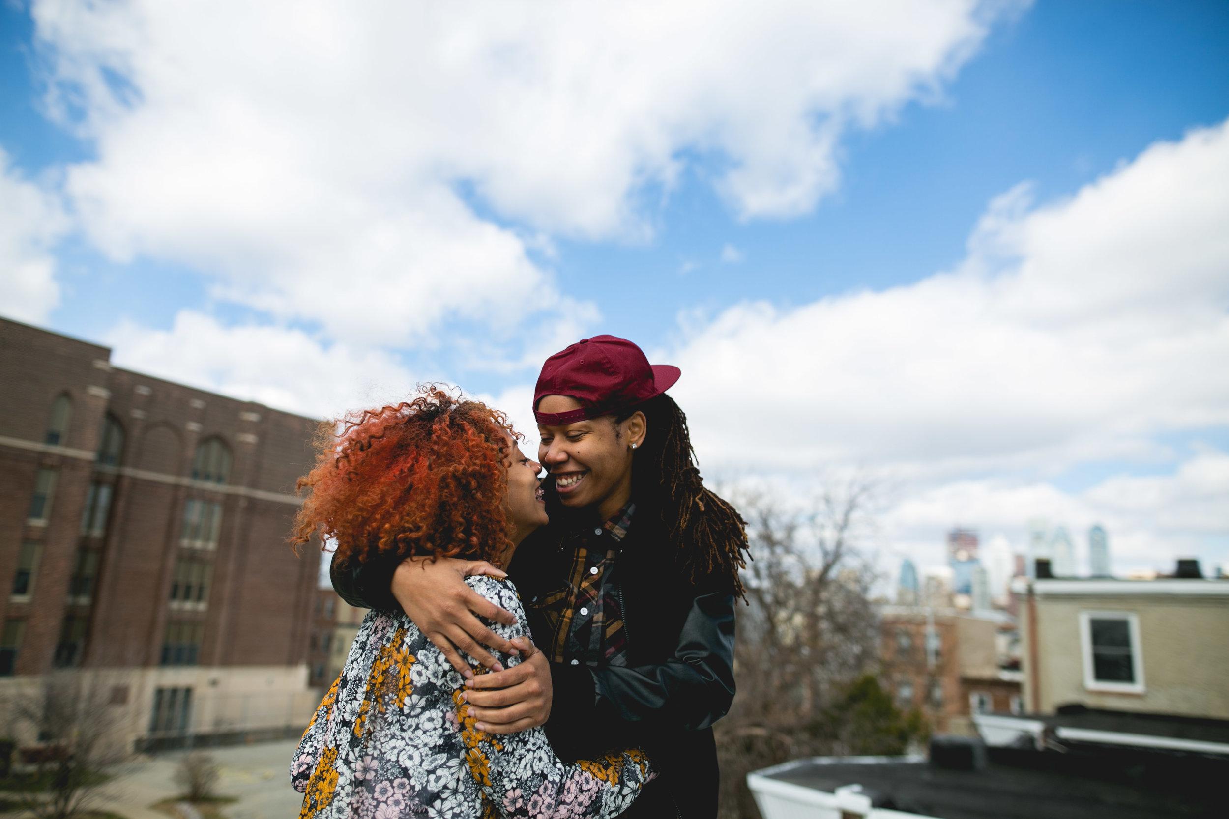 Philadelphia LGBTQ WOC Rooftop Shoot 8
