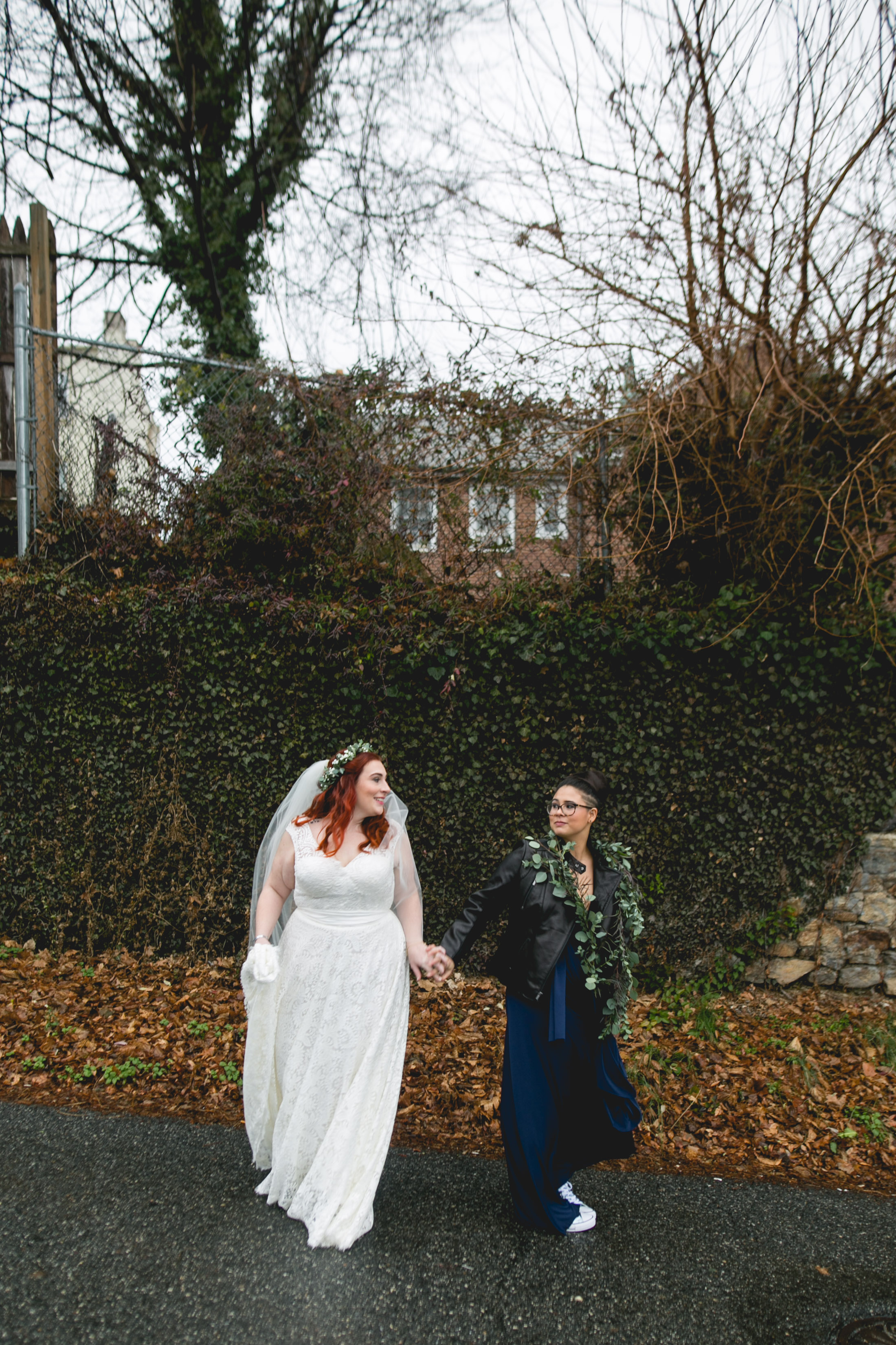 Patriotic LGBTQ Winter Styled Wedding 17