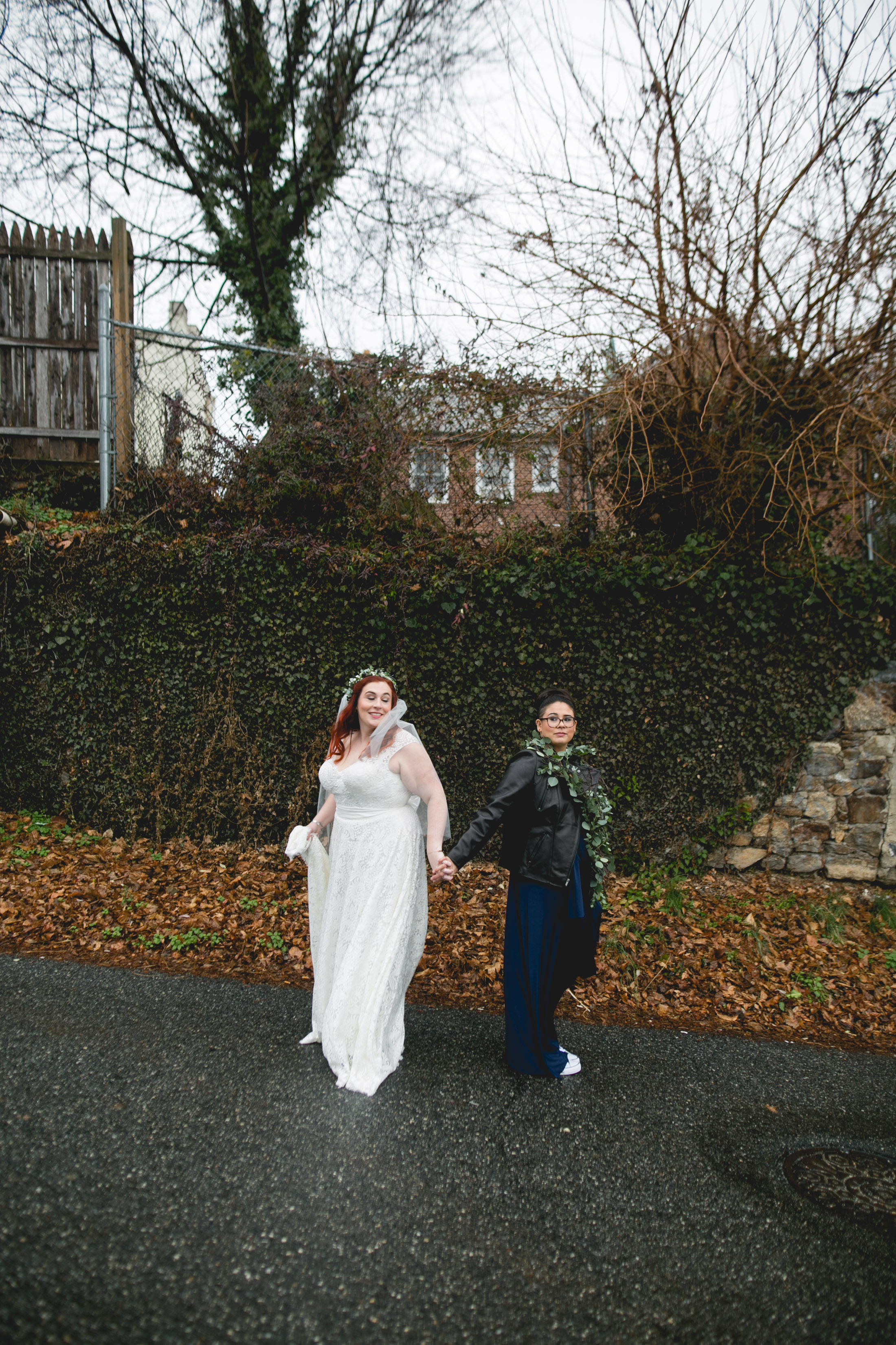 Queer Wedding Philadelphia Elopement by the lesbian photographer 16