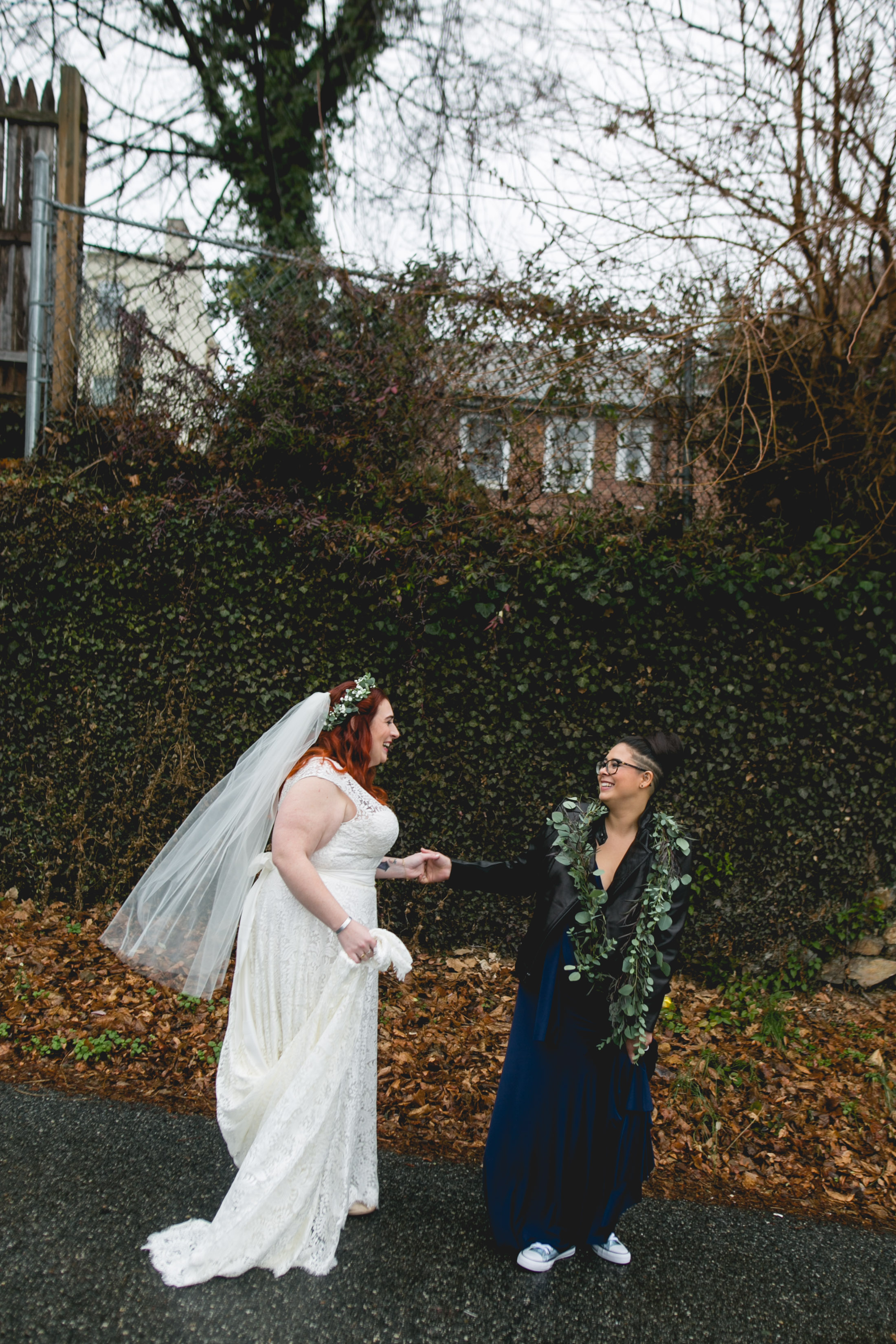 Queer Wedding Philadelphia Elopement by the lesbian photographer 17