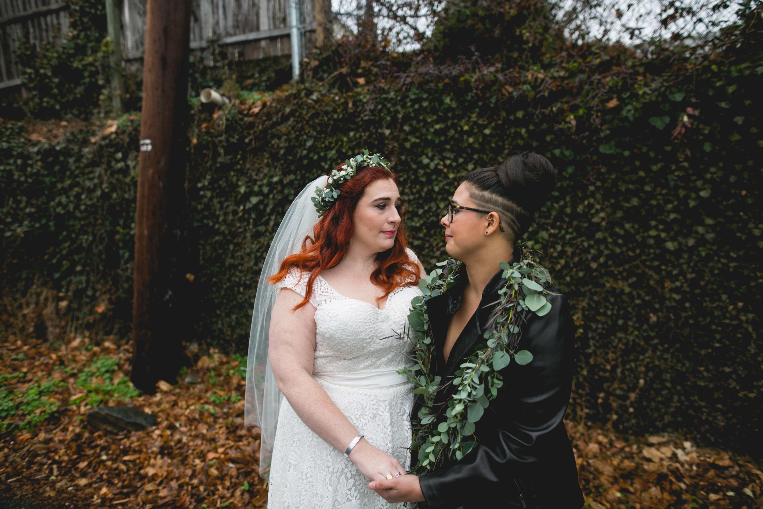 LGBTQ Philadelphia Wedding by Swiger Photography the Lesbian photographer 17