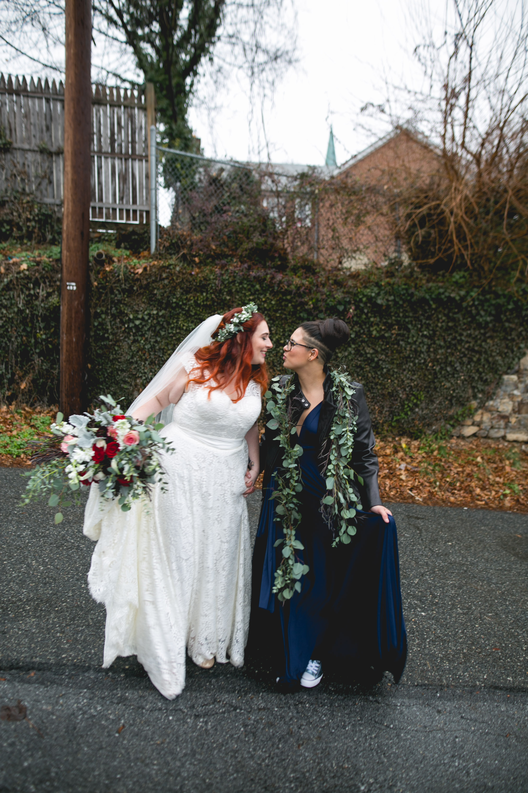 Queer Wedding Philadelphia Elopement by the lesbian photographer 23