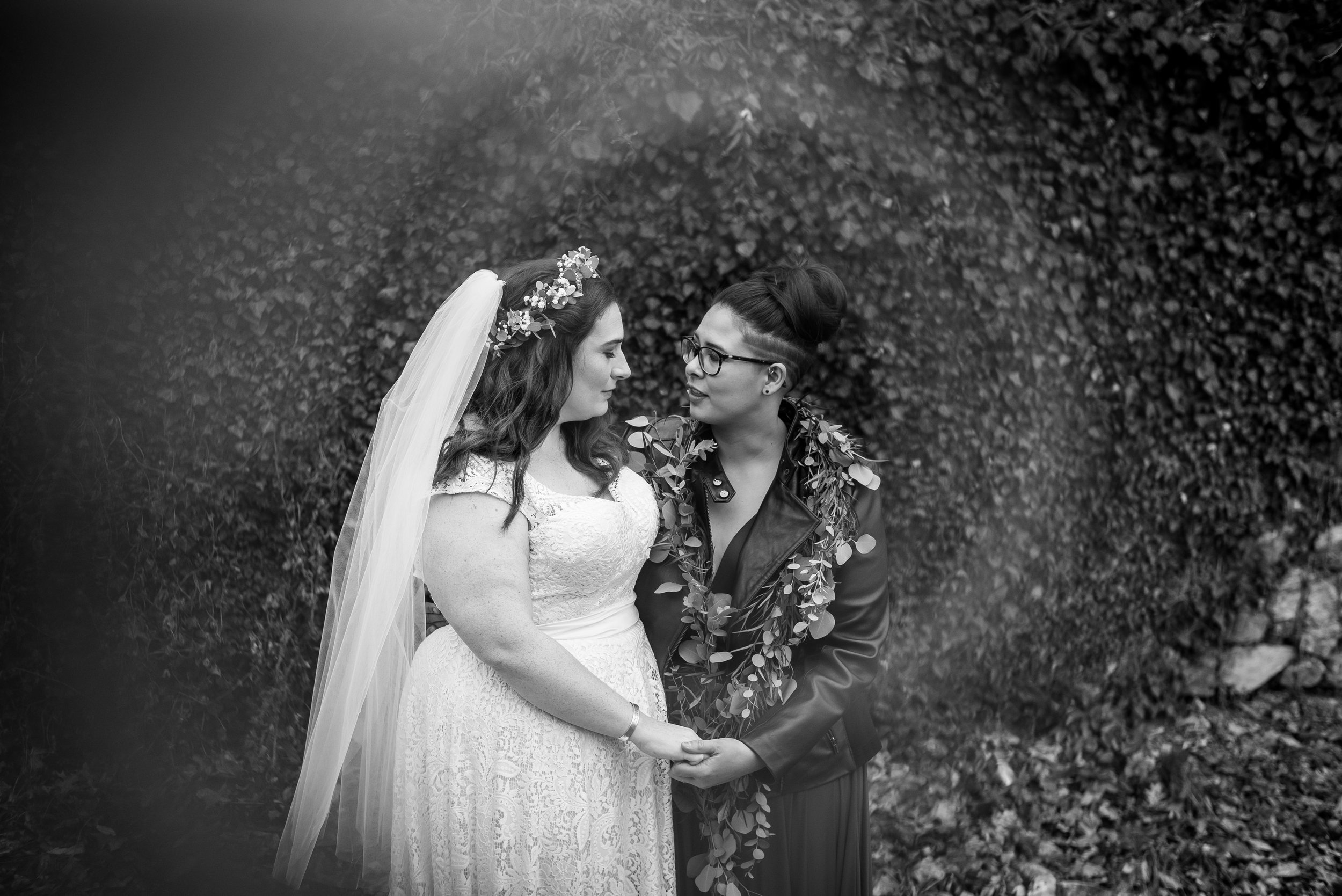 Queer Wedding Philadelphia Elopement by the lesbian photographer 24