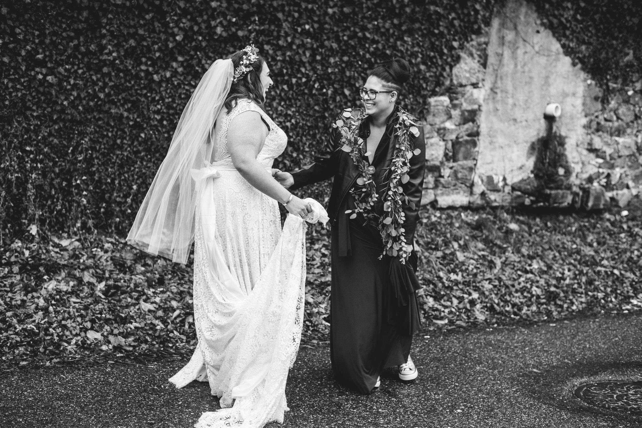 LGBTQ Philadelphia Wedding by Swiger Photography the Lesbian photographer 16